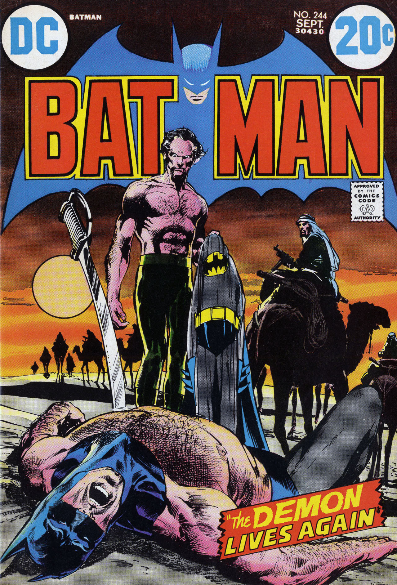 Batman (1940) 244 Page 1