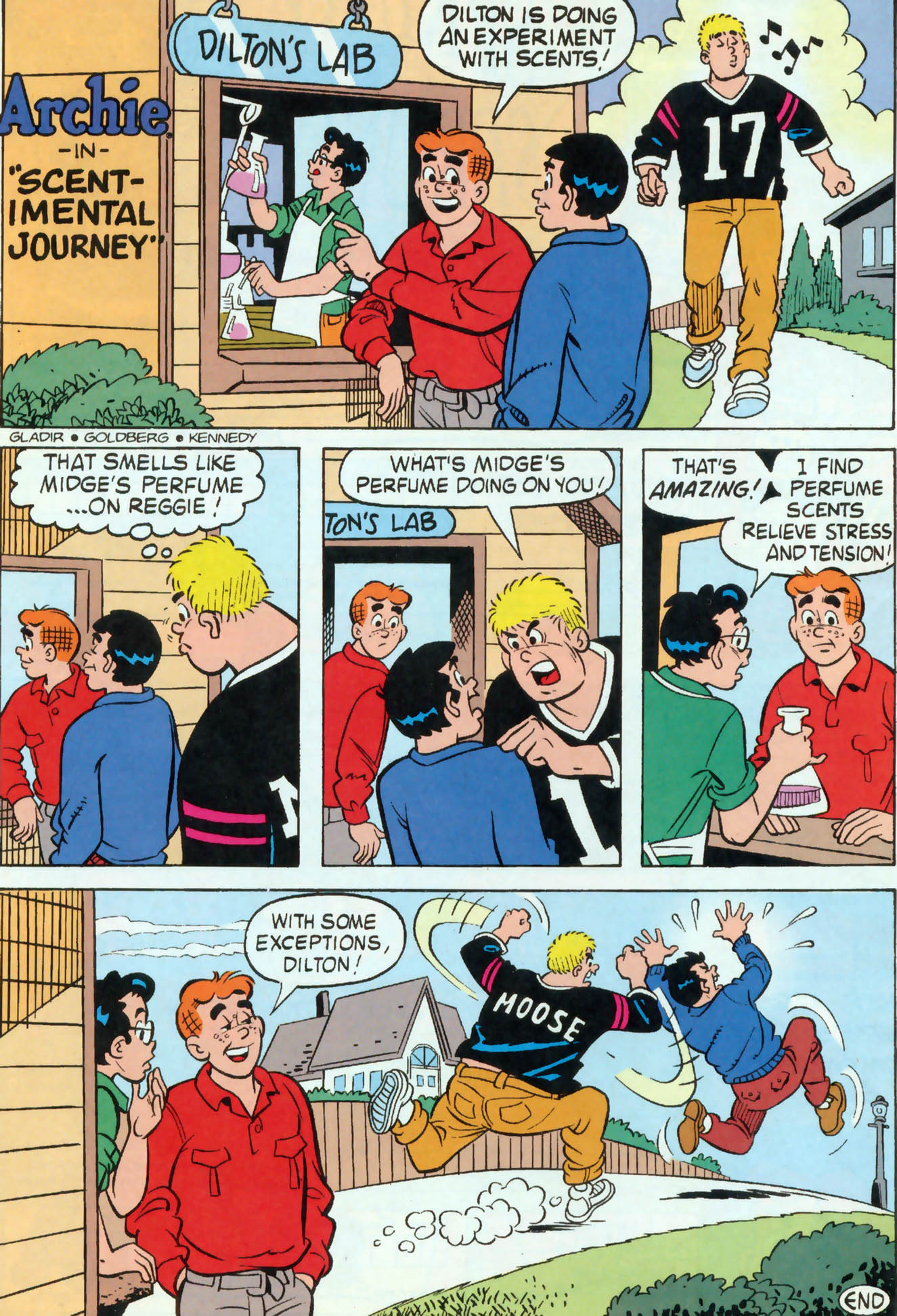 Read online Archie (1960) comic -  Issue #460 - 13