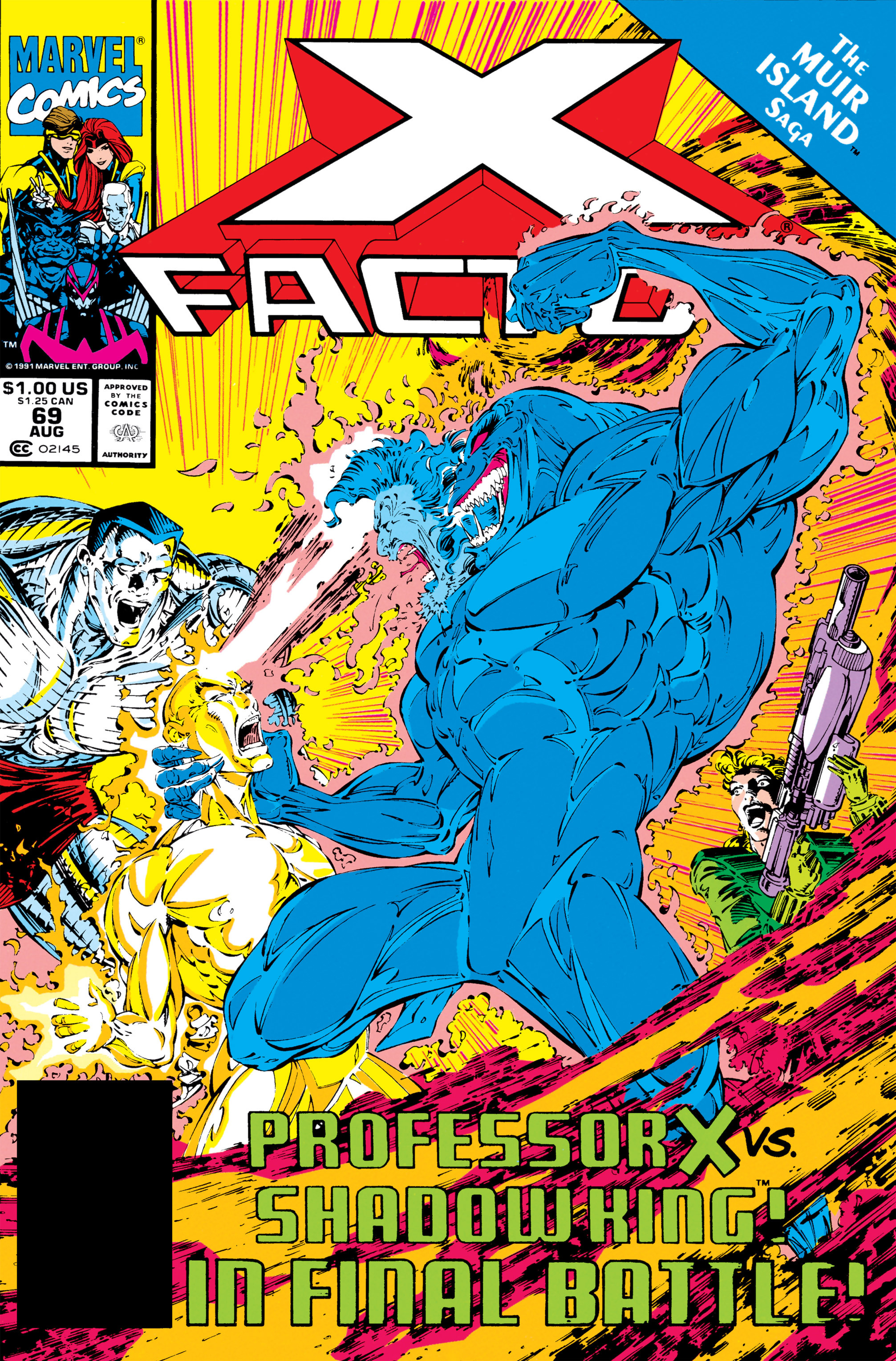 Read online X-Factor (1986) comic -  Issue #69 - 1