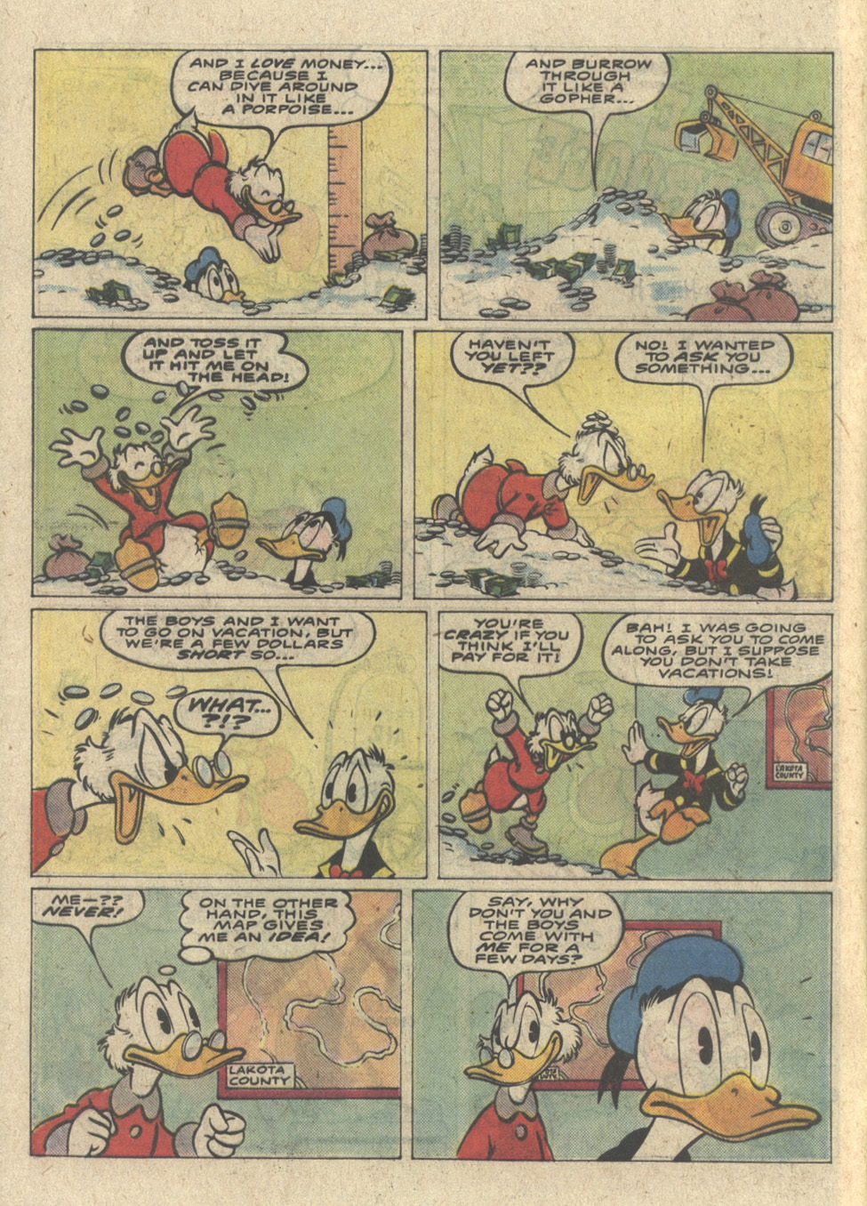 Read online Uncle Scrooge (1953) comic -  Issue #227 - 4