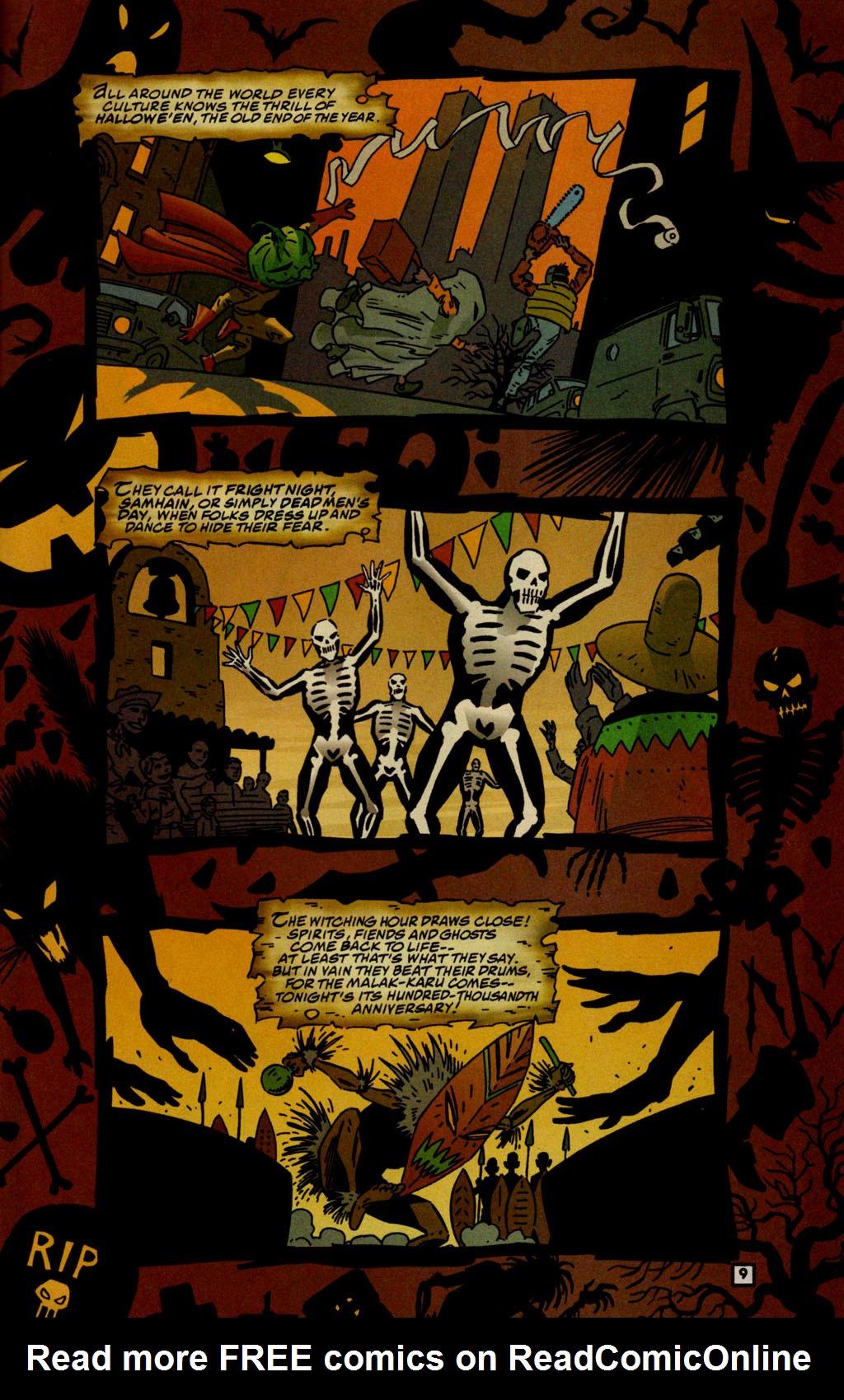 Read online Lobo/Demon: Hellowe'en comic -  Issue # Full - 10
