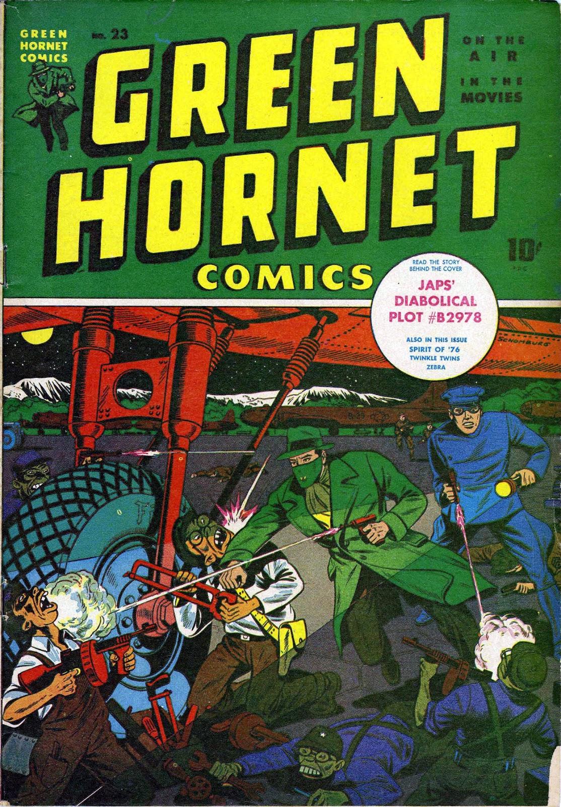 Green Hornet Comics 23 Page 1