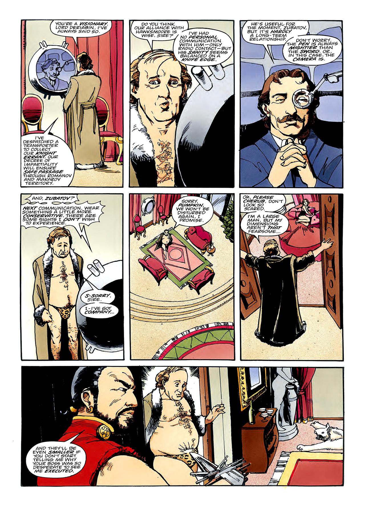 Read online Nikolai Dante comic -  Issue # TPB 3 - 101