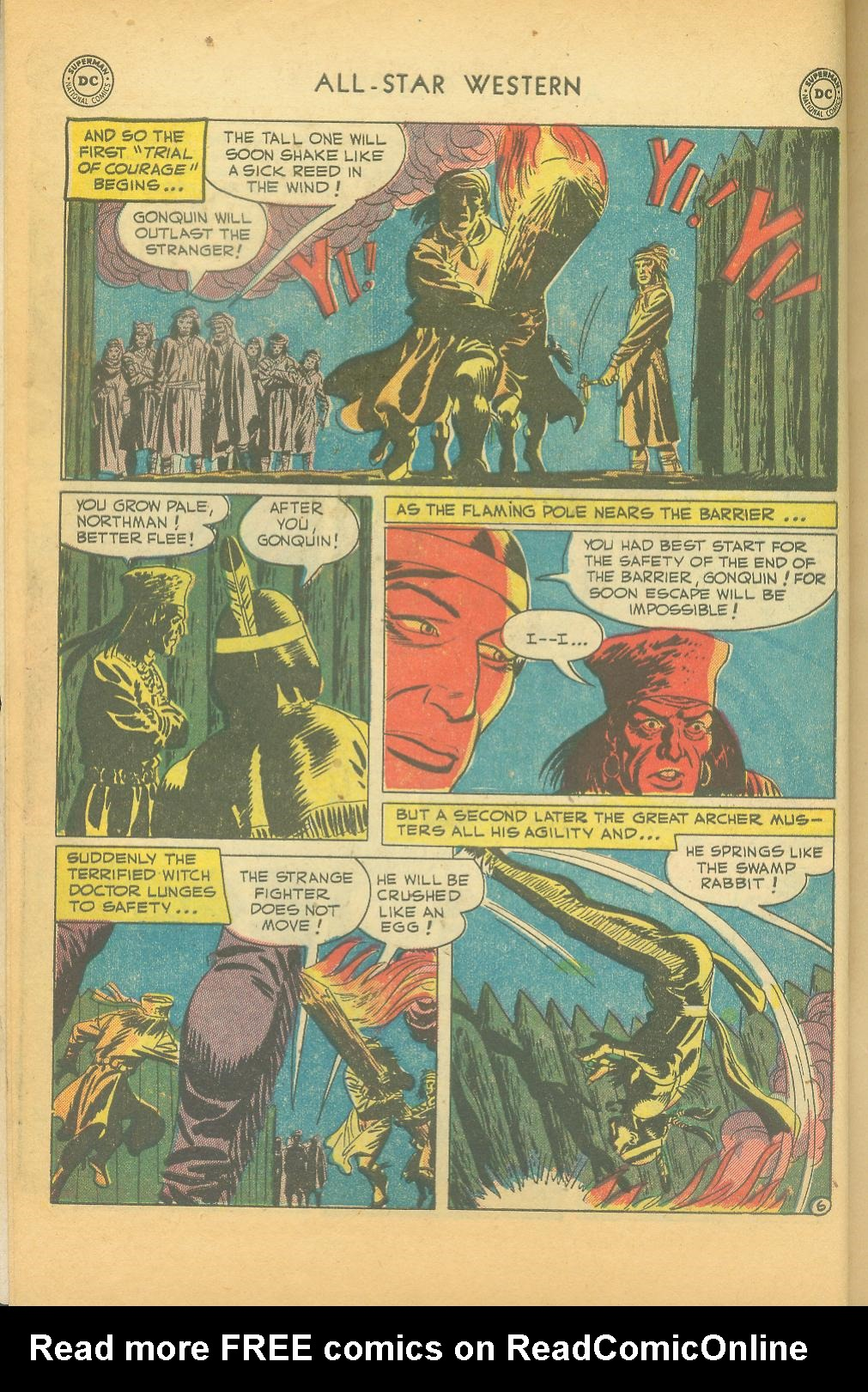 Read online All-Star Western (1951) comic -  Issue #61 - 8