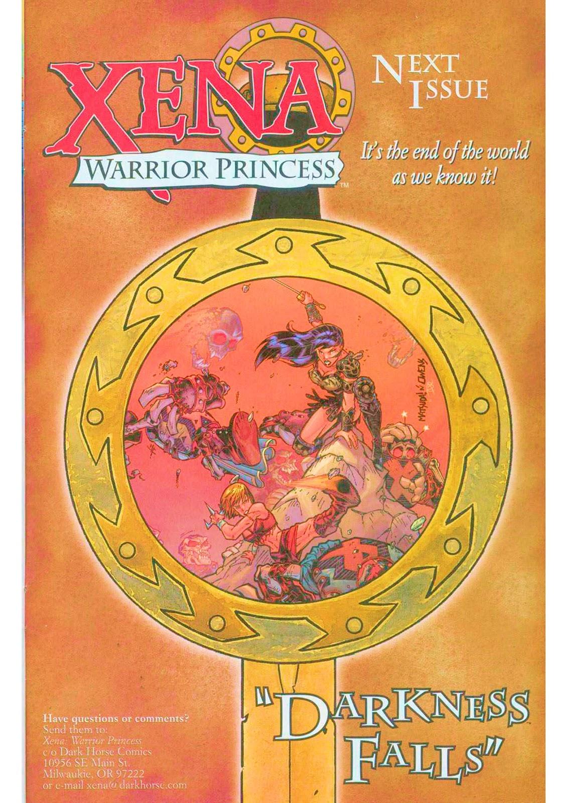 Xena: Warrior Princess (1999) Issue #10 #10 - English 27