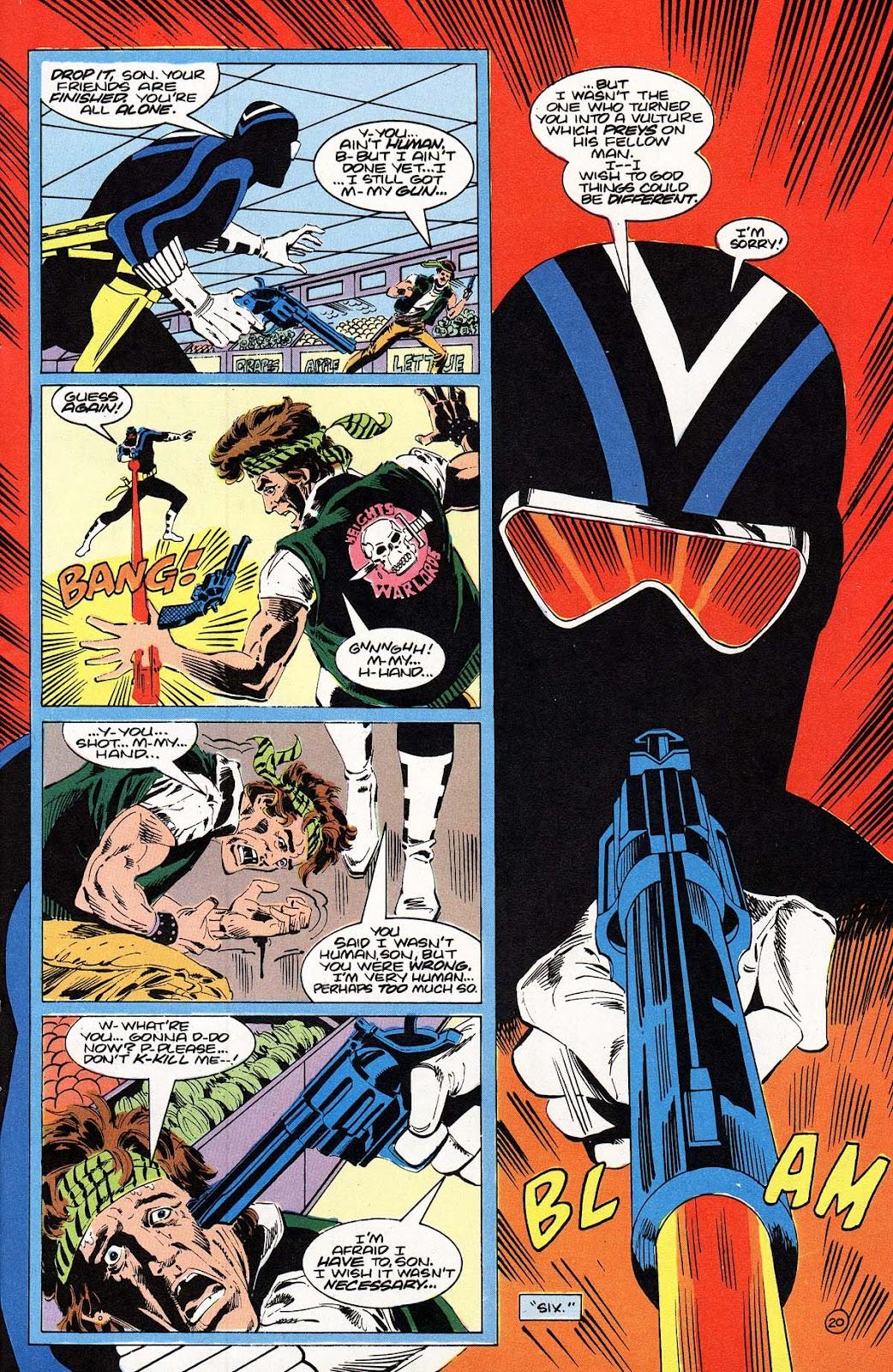 Vigilante (1983) issue 22 - Page 21