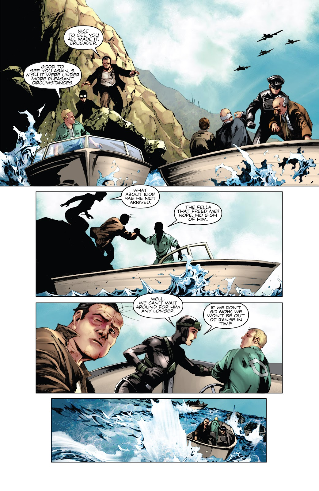 Read online Codename: Action comic -  Issue #5 - 21