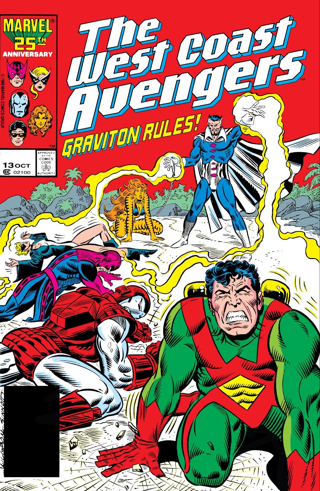 West Coast Avengers (1985) 13 Page 1