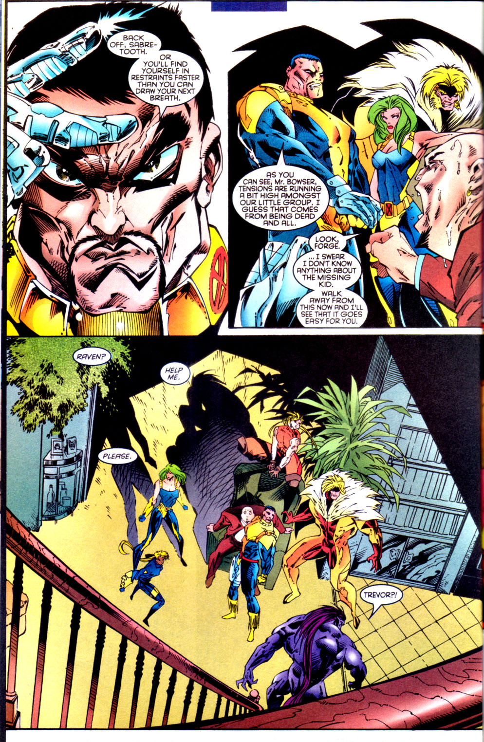 Read online X-Factor (1986) comic -  Issue #134 - 17