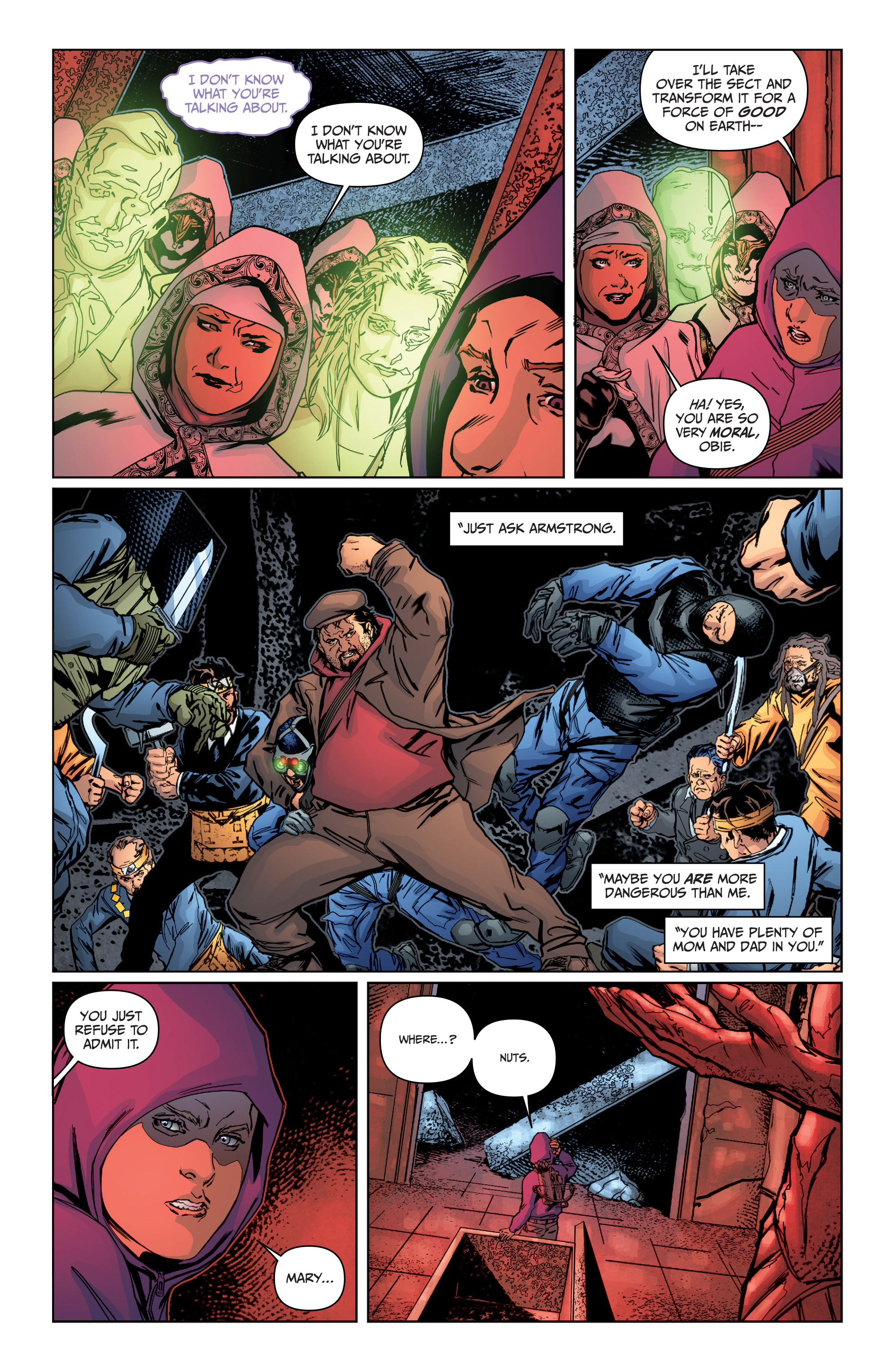 Read online Archer and Armstrong comic -  Issue #Archer and Armstrong _TPB 4 - 84