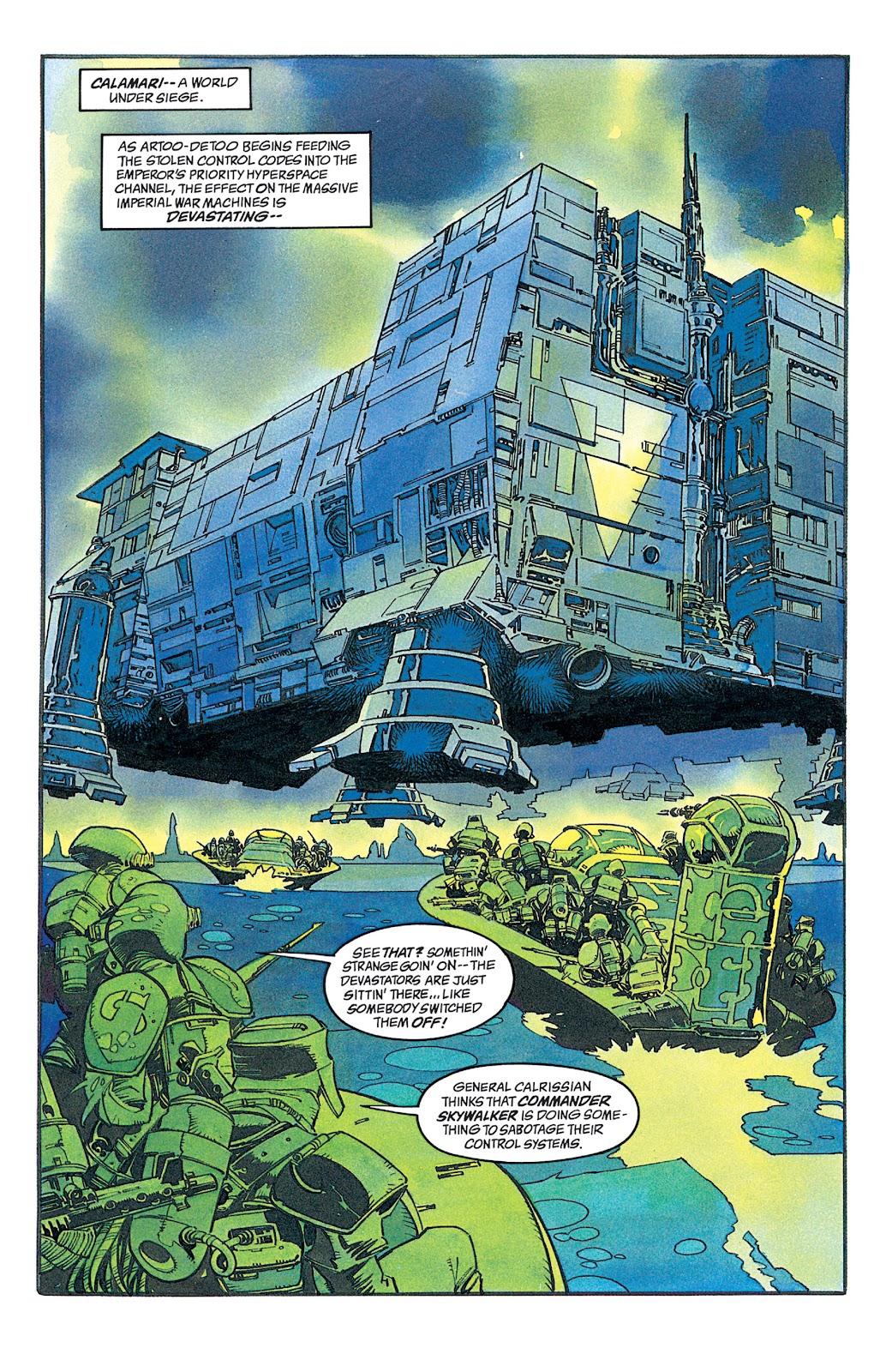 Read online Star Wars: Dark Empire Trilogy comic -  Issue # TPB (Part 2) - 33