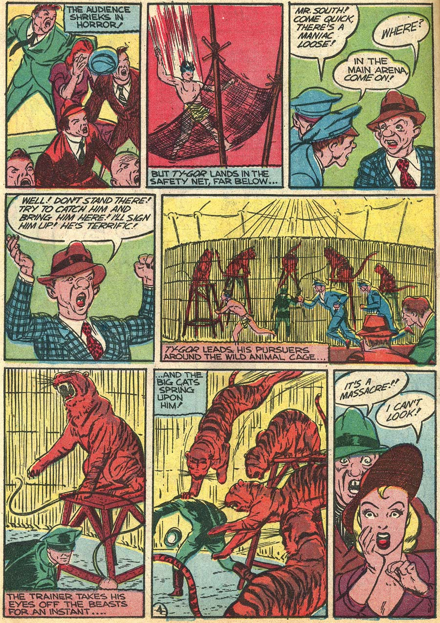Blue Ribbon Comics (1939) issue 9 - Page 46