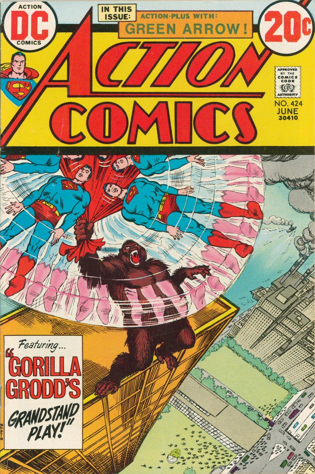 Action Comics (1938) 424 Page 0