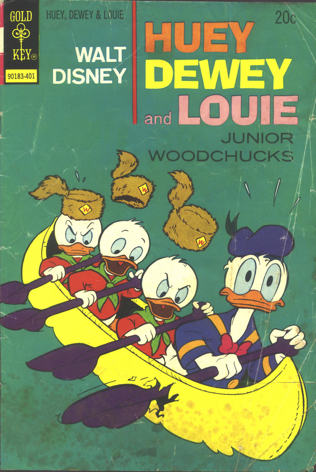 Huey, Dewey, and Louie Junior Woodchucks 24 Page 1