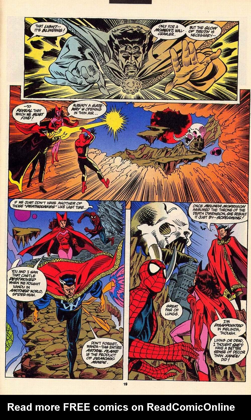Read online Secret Defenders comic -  Issue #6 - 16