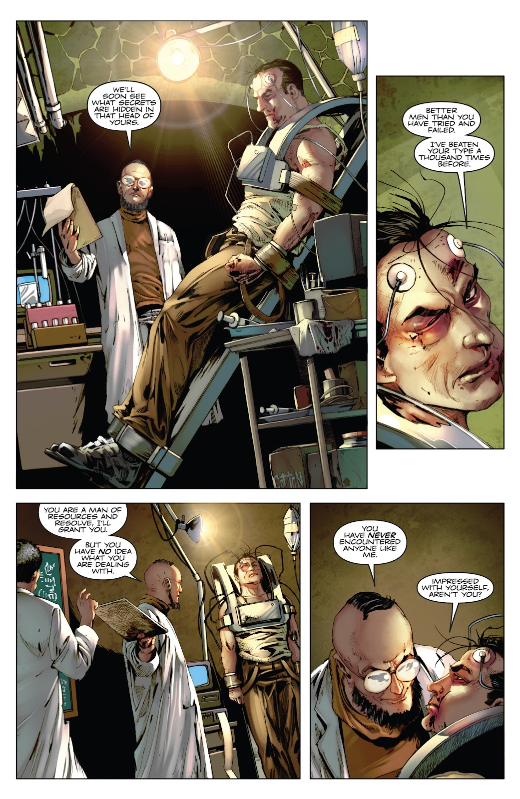 Read online Codename: Action comic -  Issue #3 - 23