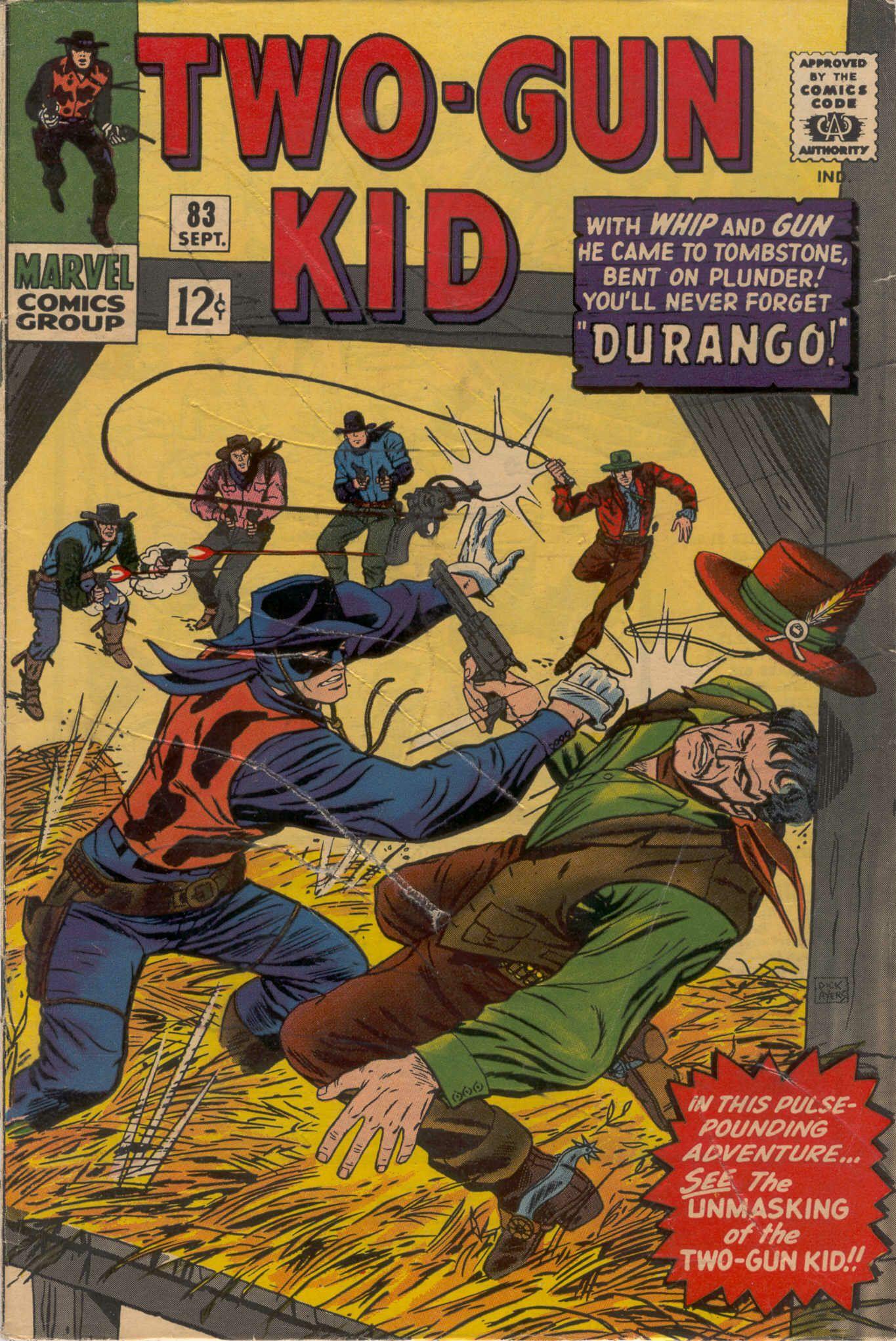 Read online Two-Gun Kid comic -  Issue #83 - 1