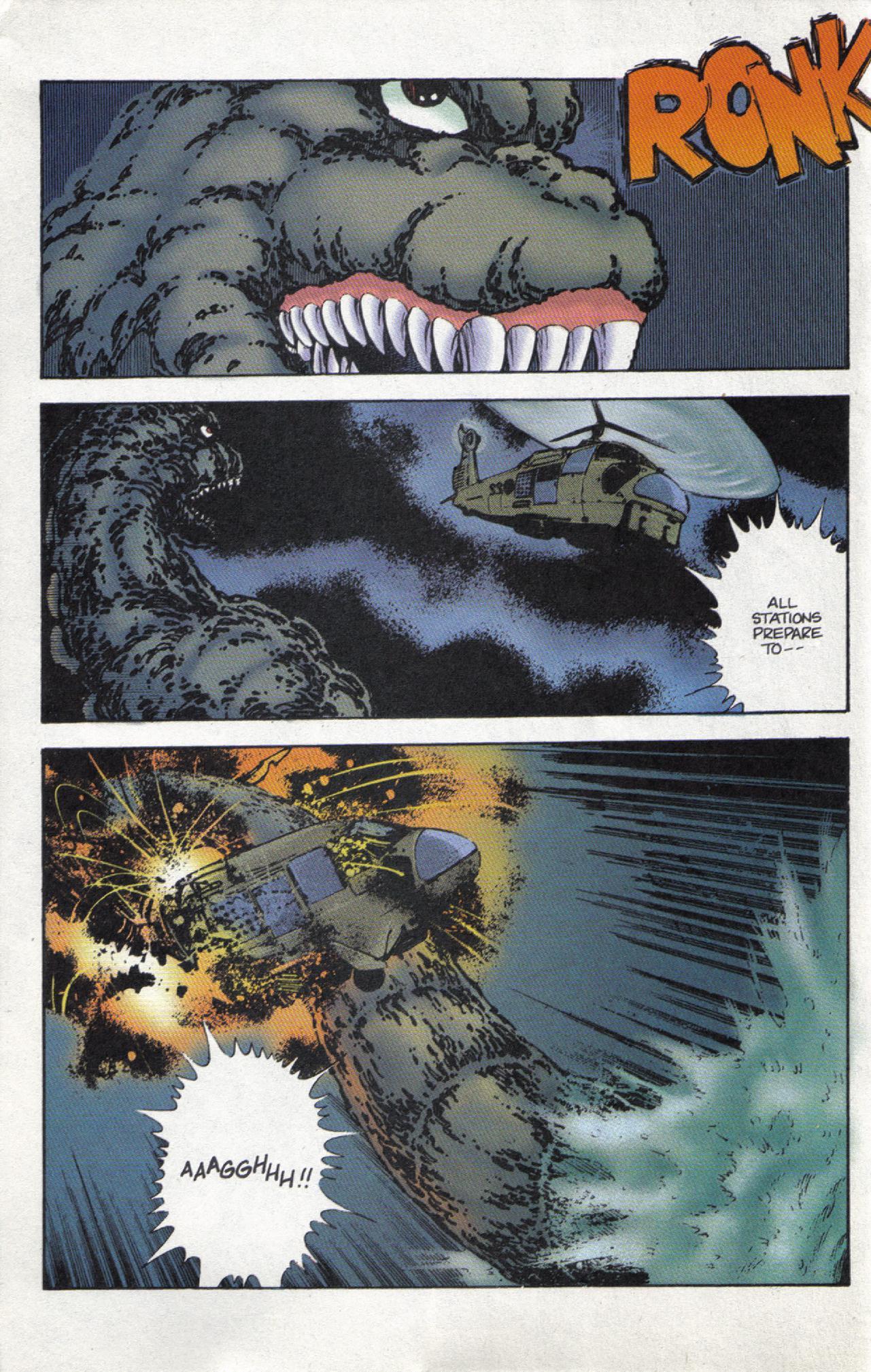 Read online Dark Horse Classics: Terror of Godzilla comic -  Issue #3 - 15