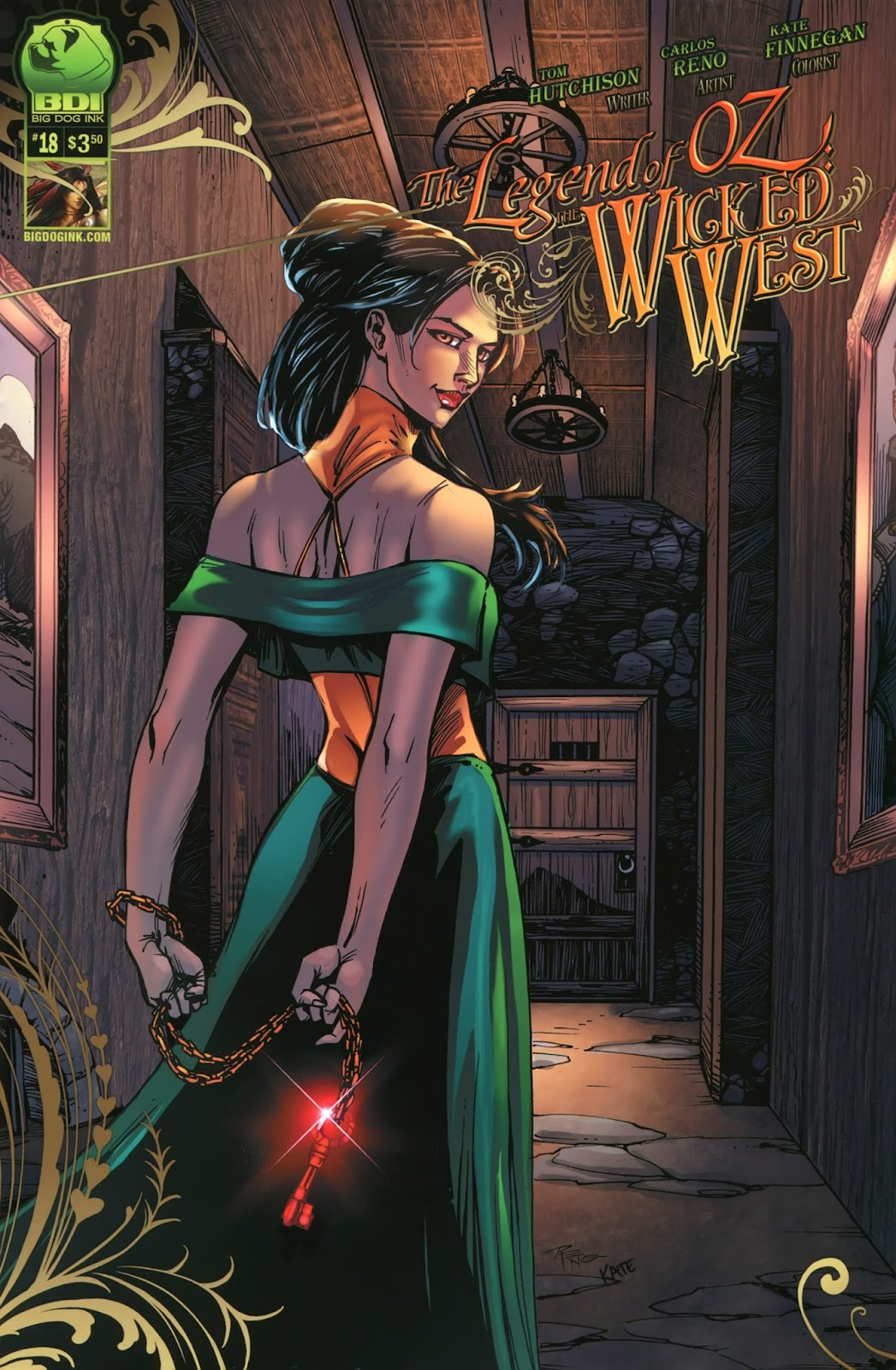 Legend of Oz: The Wicked West (2012) issue 18 - Page 1