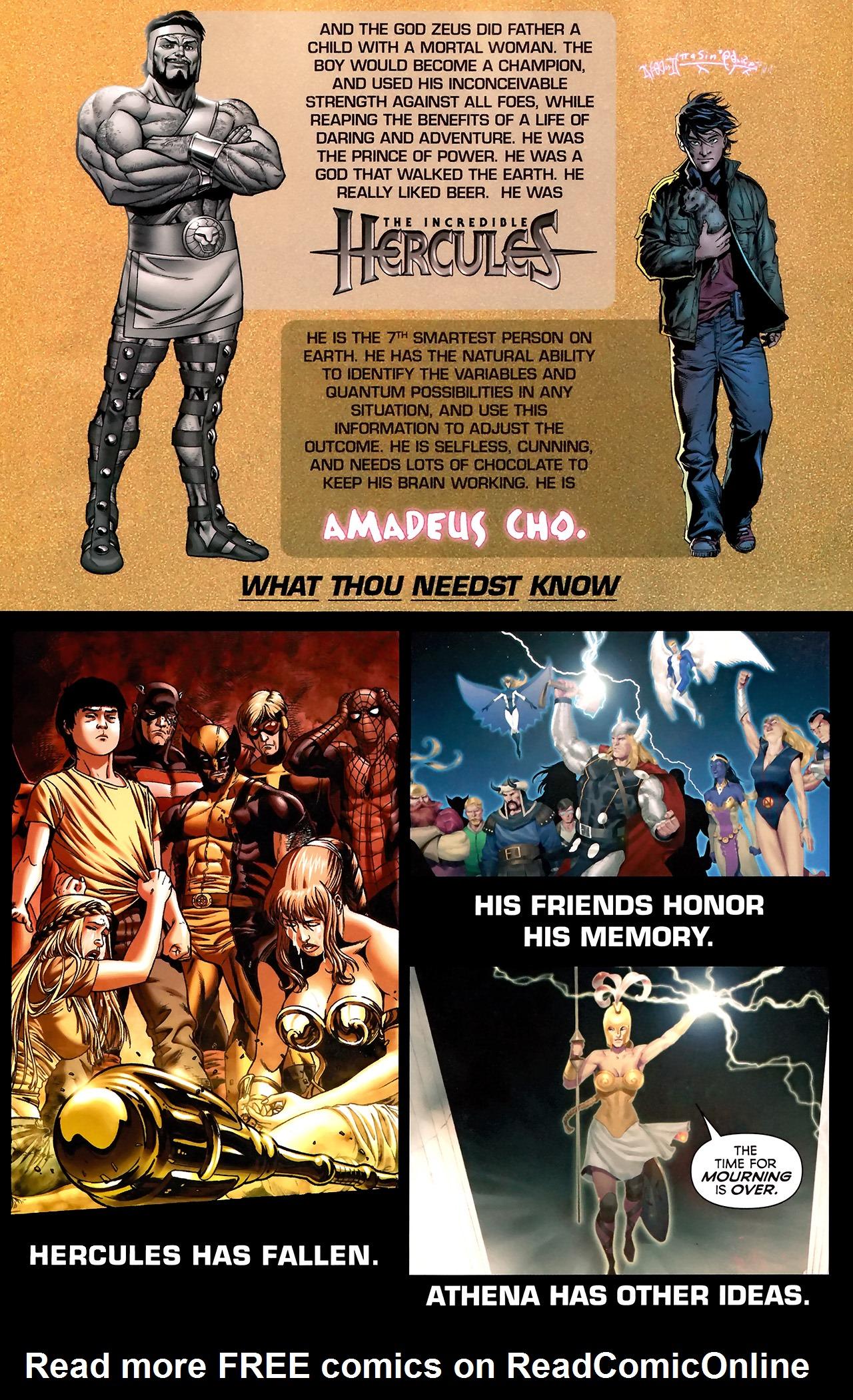 Read online Hercules: Fall of an Avenger comic -  Issue #2 - 2