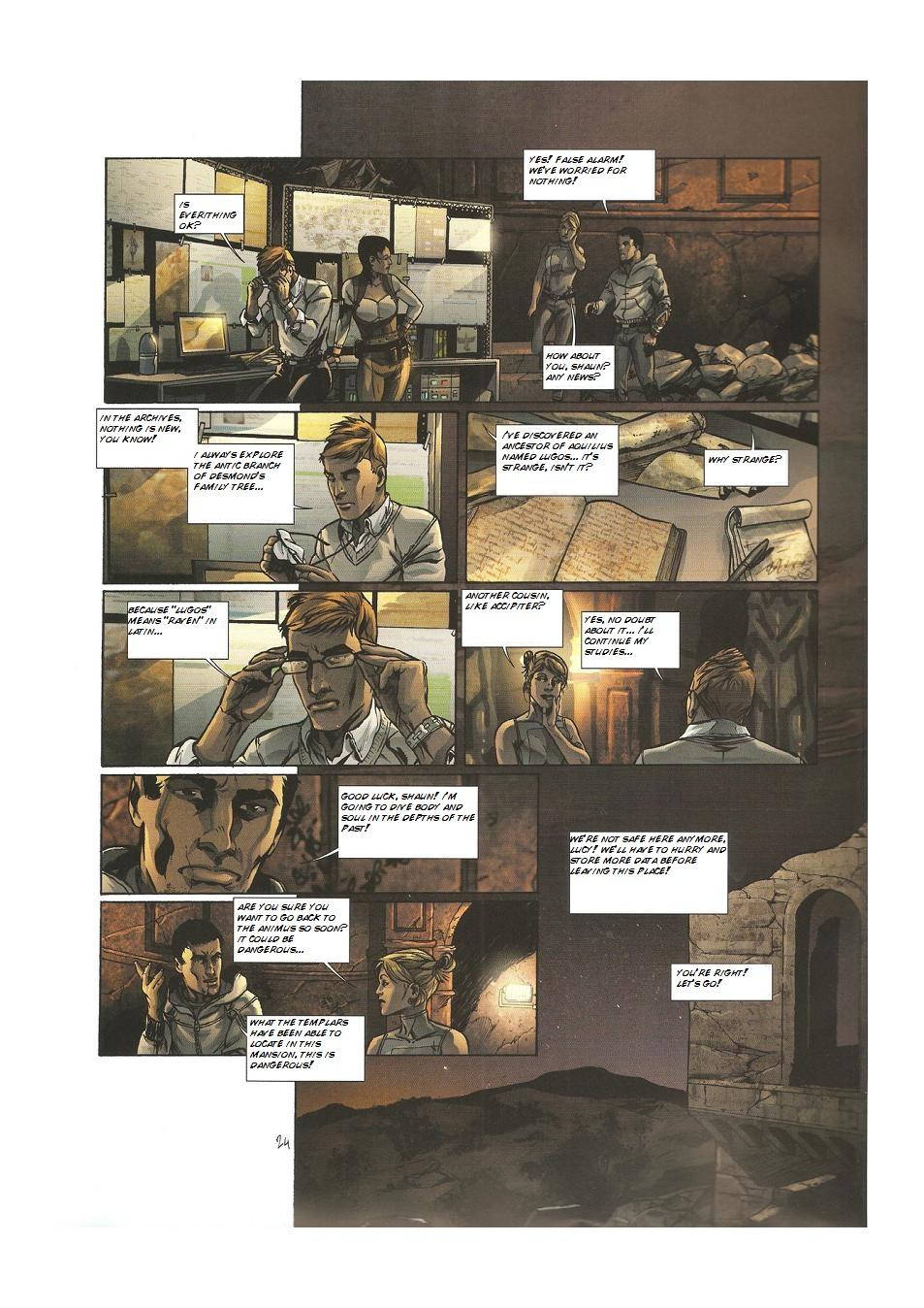 Read online Assassin's Creed (2009) comic -  Issue #3 - 26