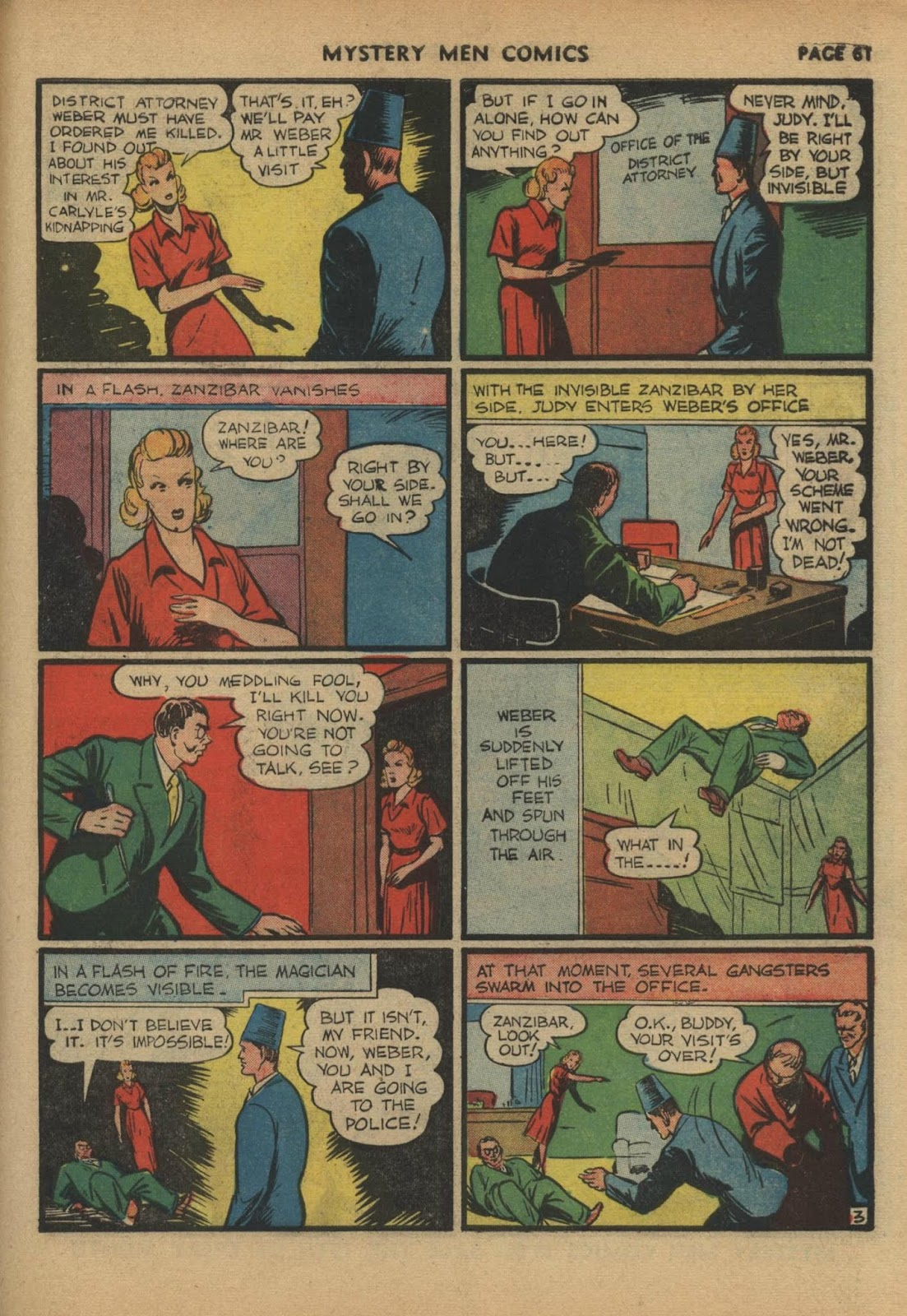 Mystery Men Comics issue 17 - Page 63