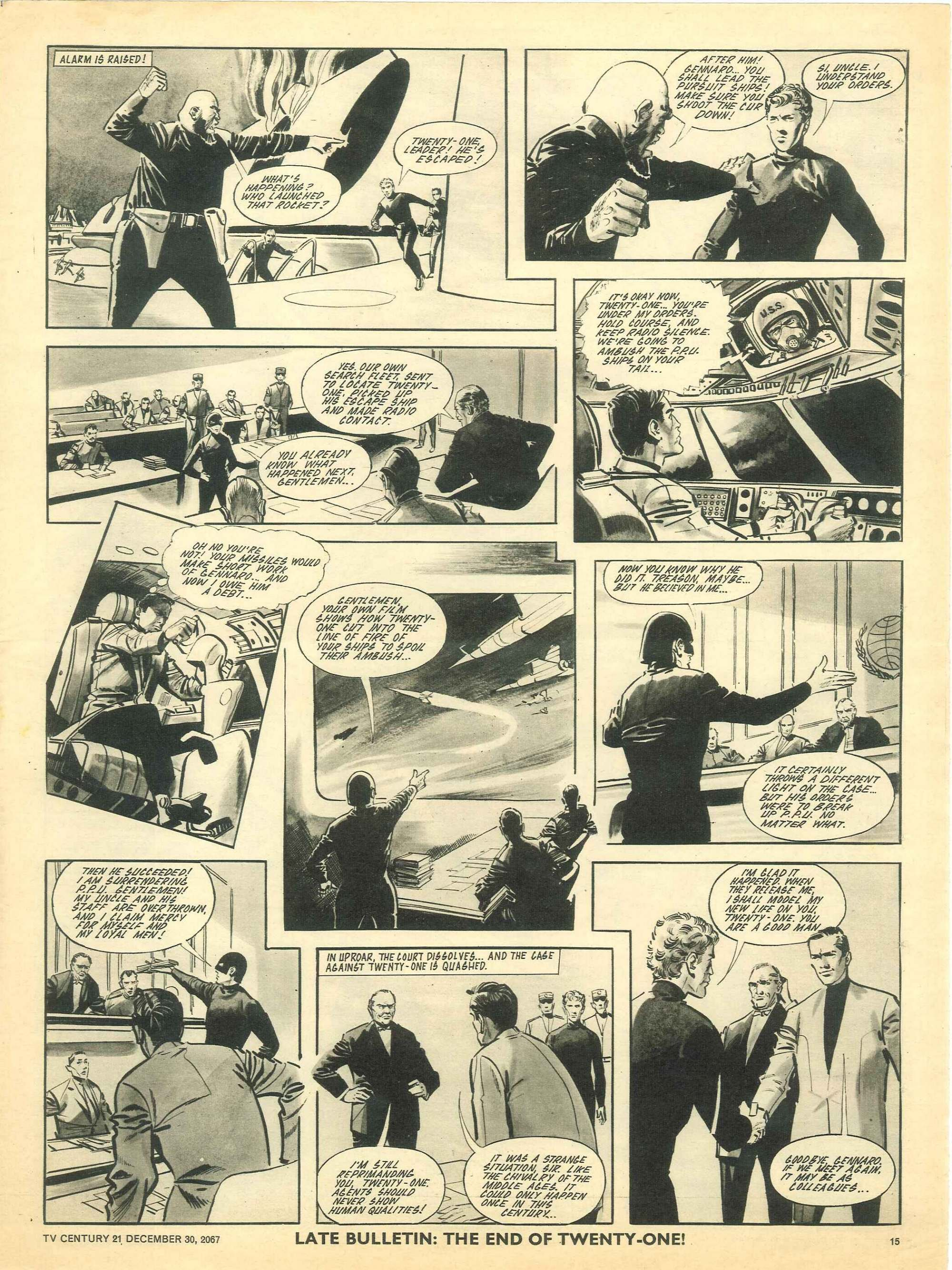 Read online TV Century 21 (TV 21) comic -  Issue #154 - 14