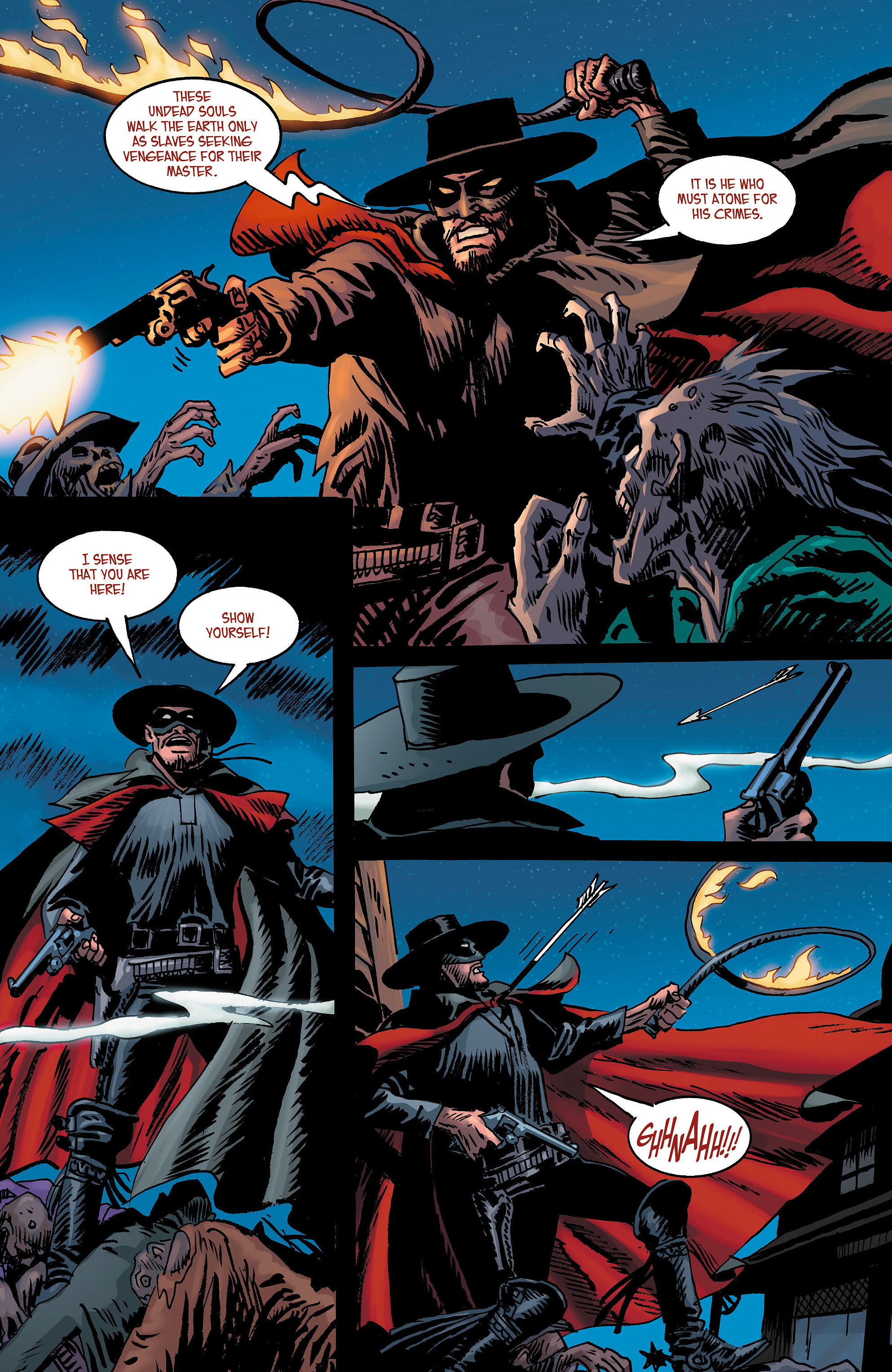Read online All-Star Western (2011) comic -  Issue #3 - 21