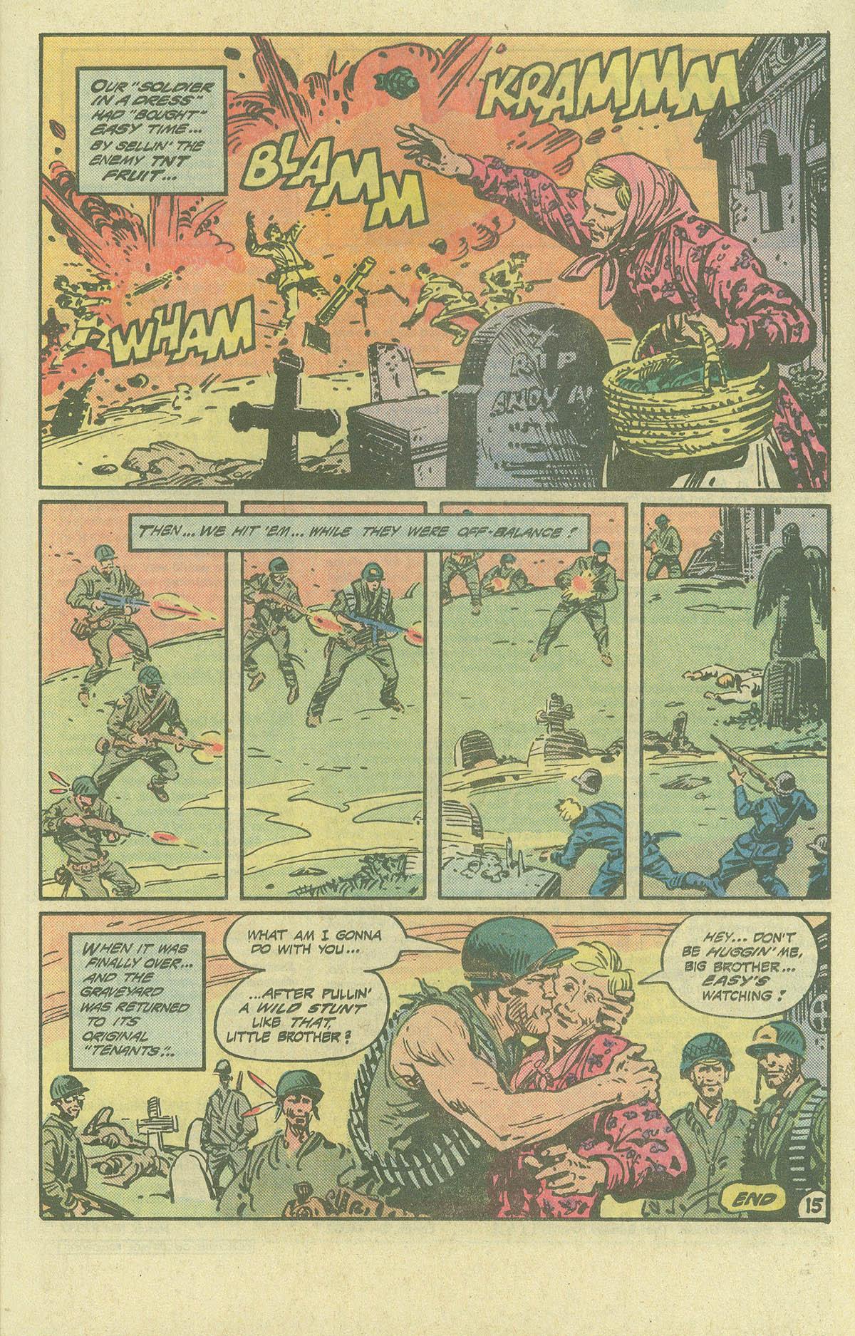 Read online Sgt. Rock comic -  Issue #393 - 15