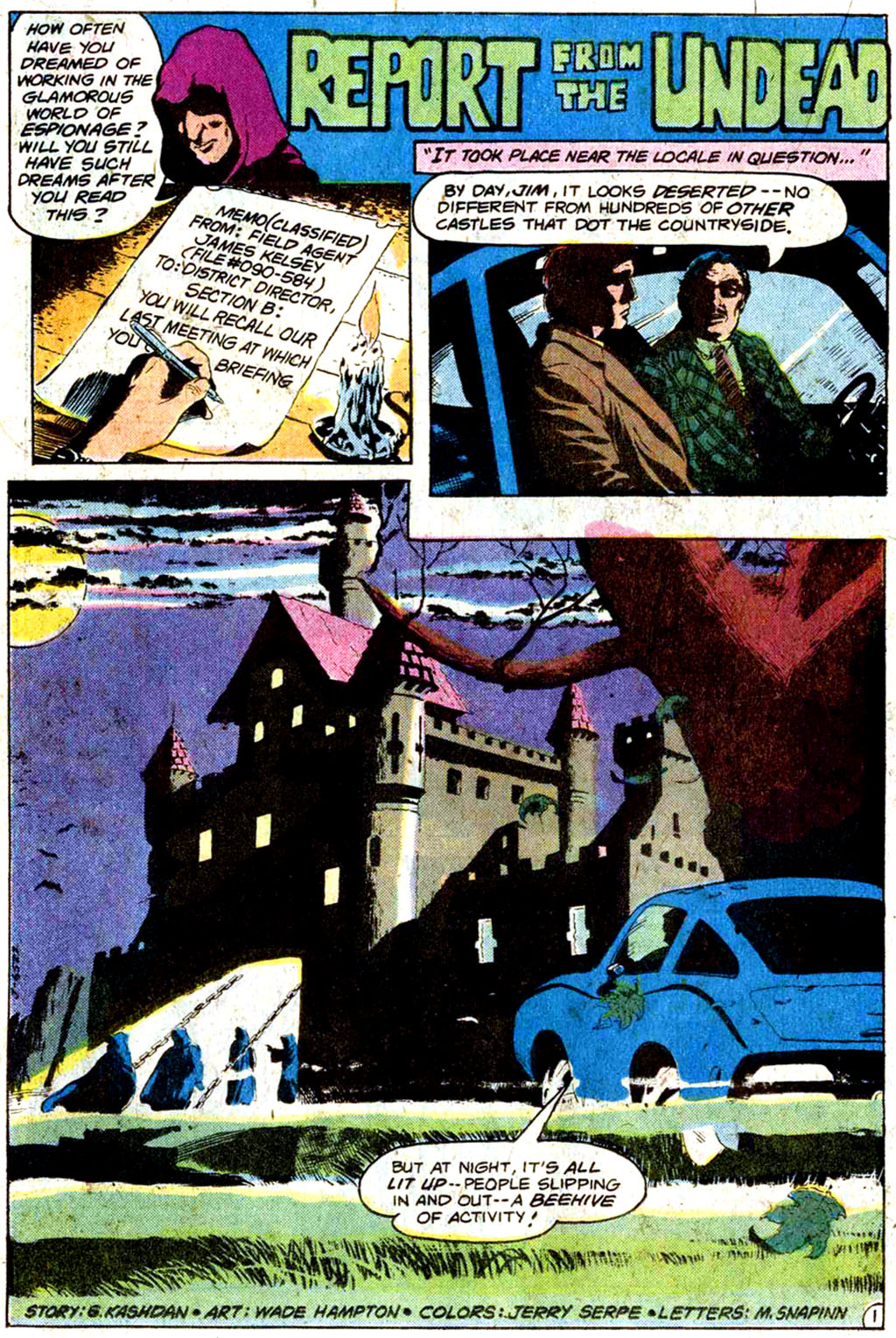 Read online Secrets of Haunted House comic -  Issue #33 - 21
