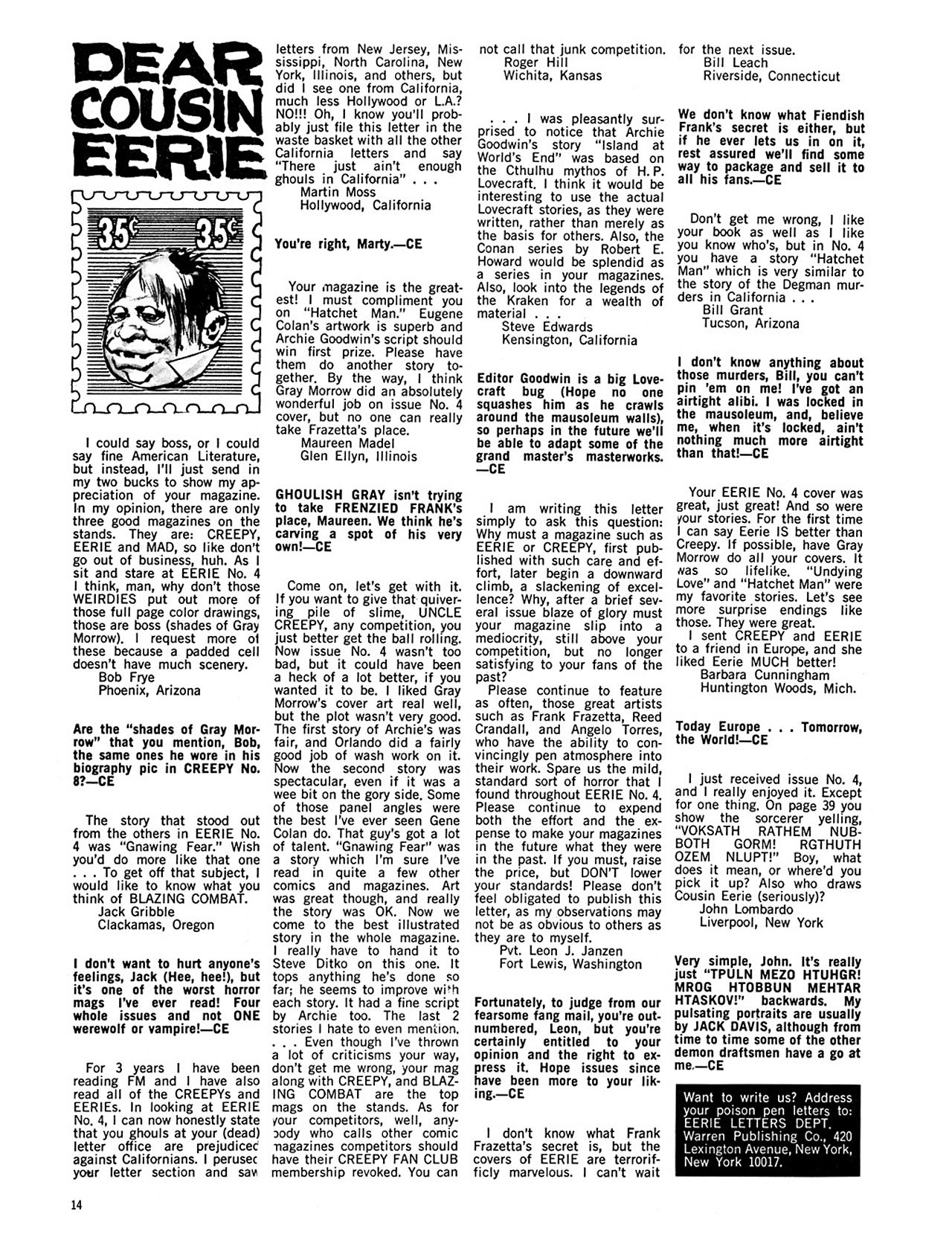 Read online Eerie Archives comic -  Issue # TPB 2 - 15