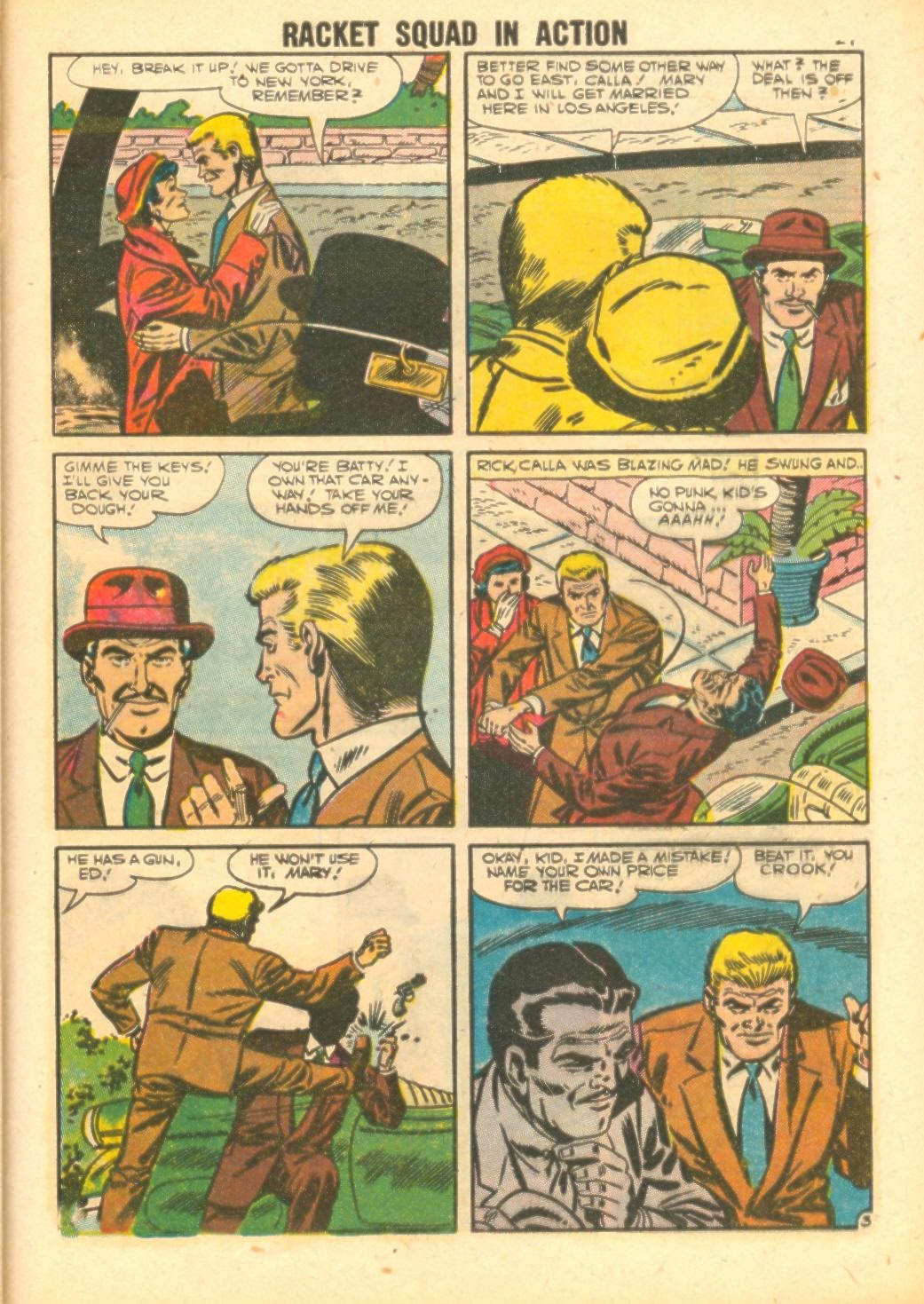 Read online Racket Squad in Action comic -  Issue #26 - 29