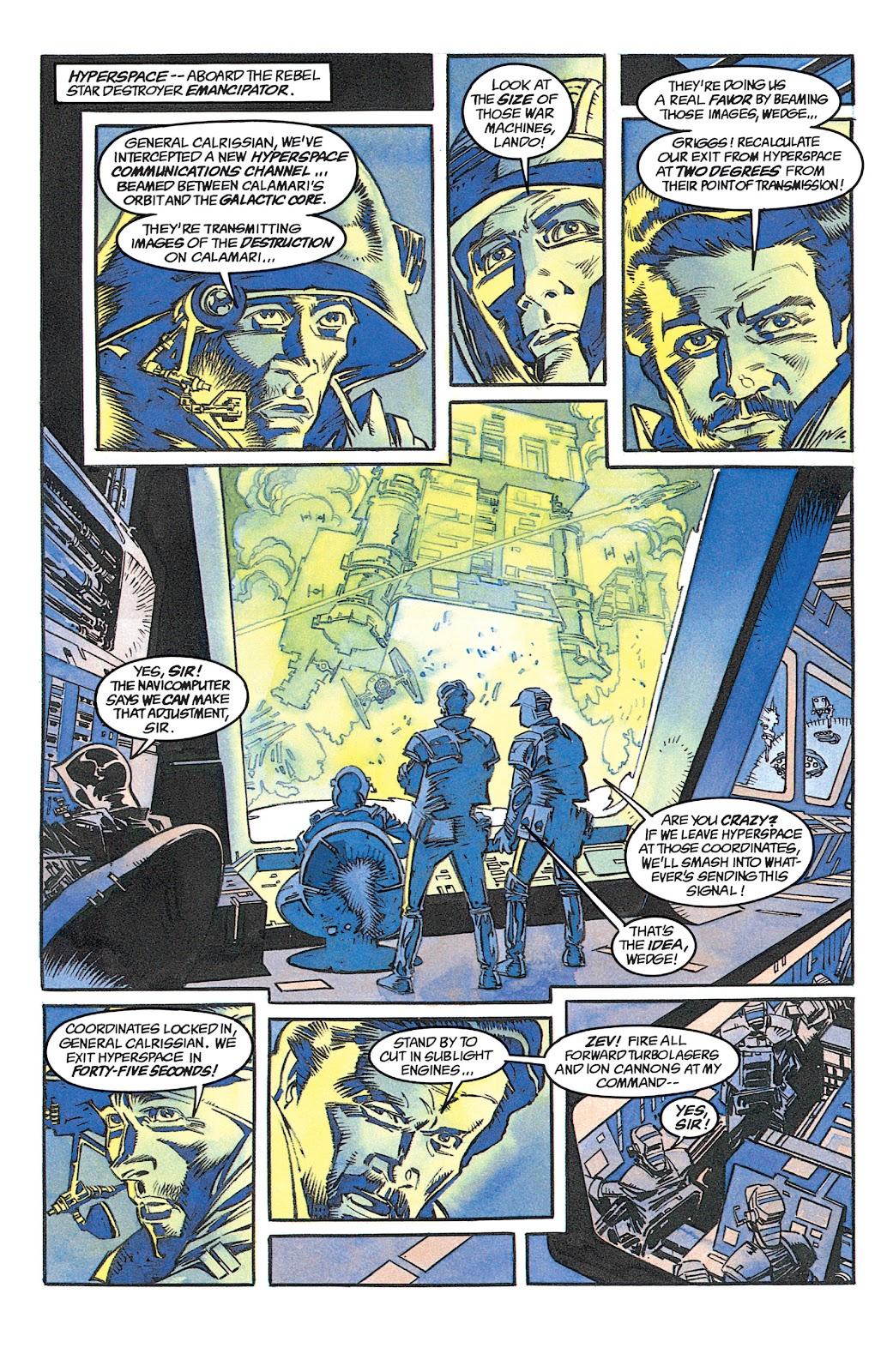 Read online Star Wars: Dark Empire Trilogy comic -  Issue # TPB (Part 1) - 57