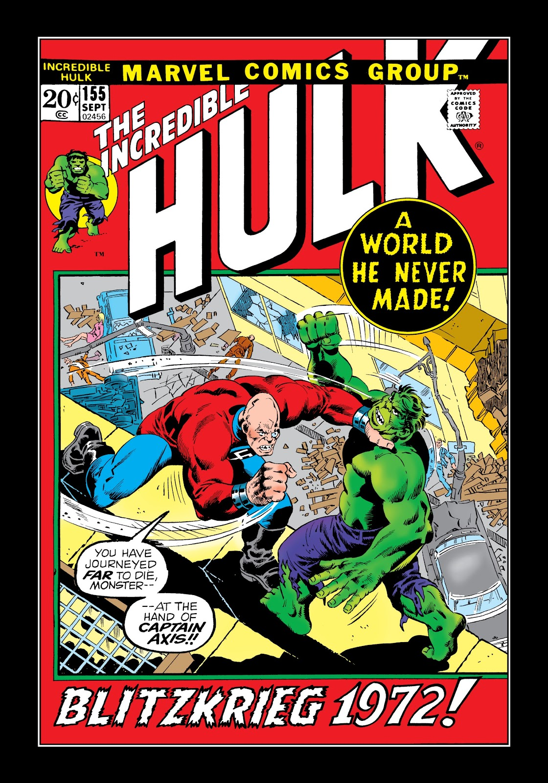 Read online Marvel Masterworks: The Incredible Hulk comic -  Issue # TPB 8 (Part 3) - 40