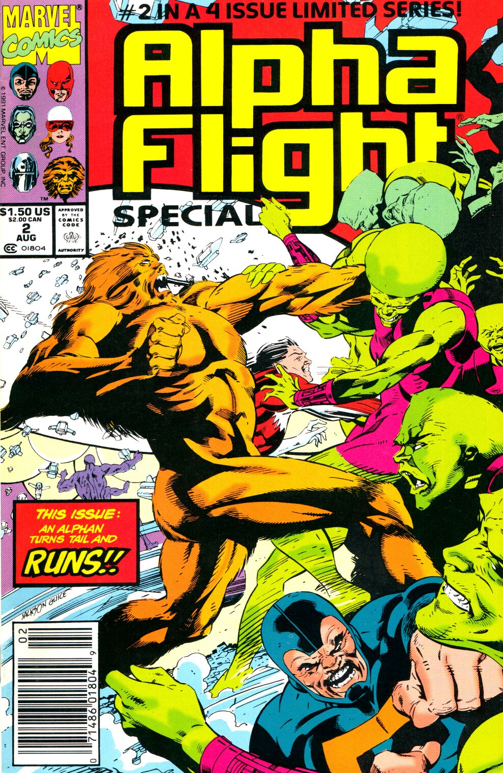 Read online Alpha Flight Special comic -  Issue #2 - 1