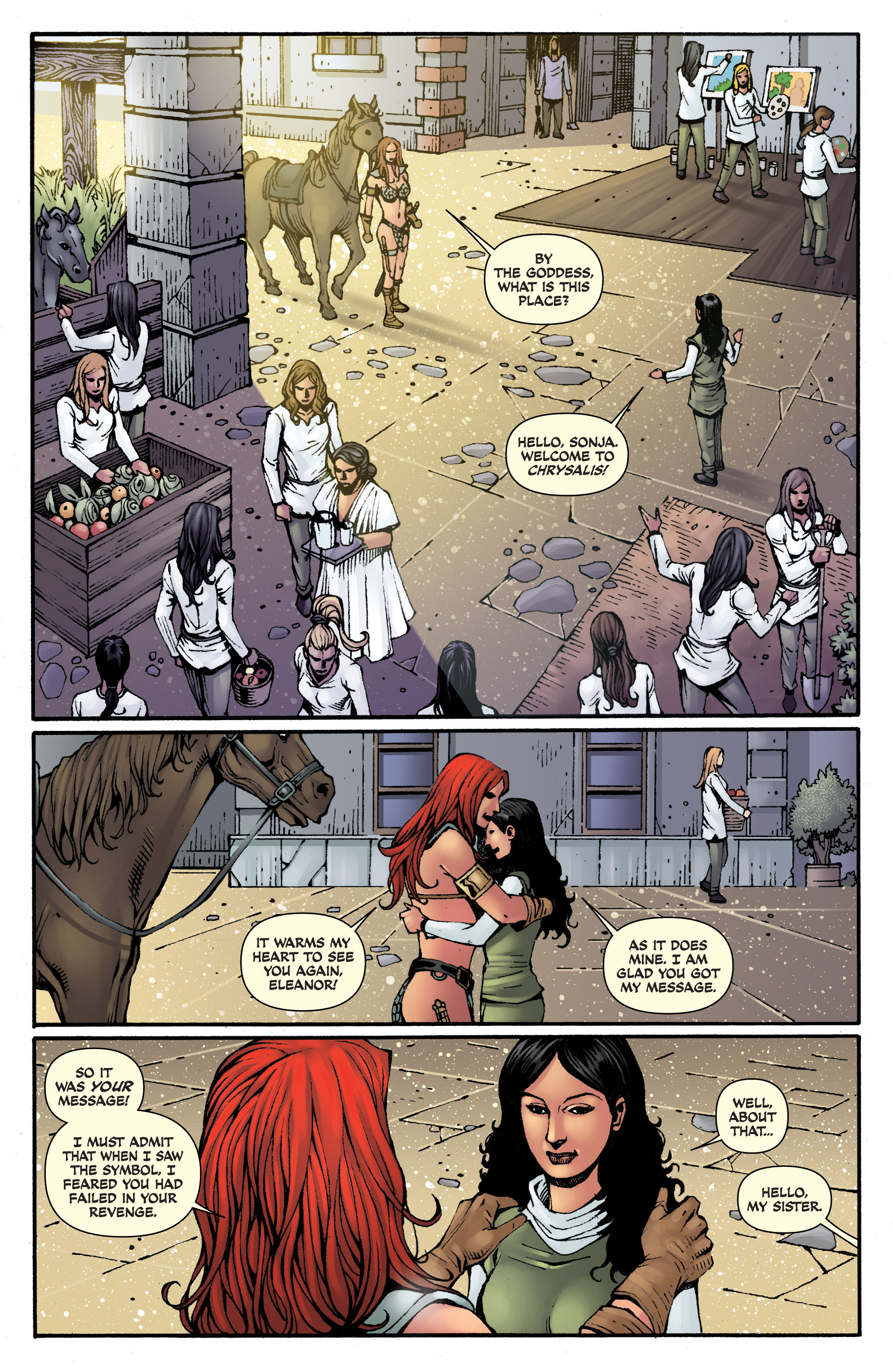Read online Red Sonja: Sanctuary comic -  Issue # Full - 5