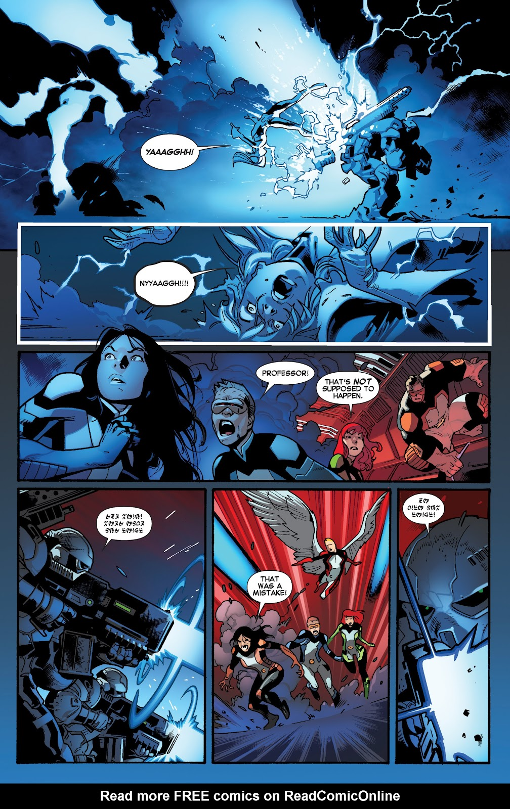 Guardians of the Galaxy/All-New X-Men: The Trial of Jean Grey issue TPB - Page 15