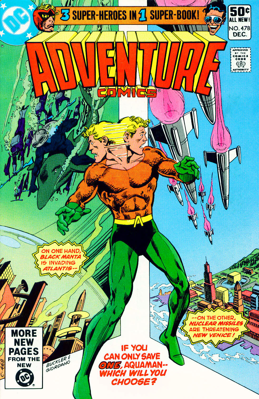 Read online Adventure Comics (1938) comic -  Issue #478 - 1