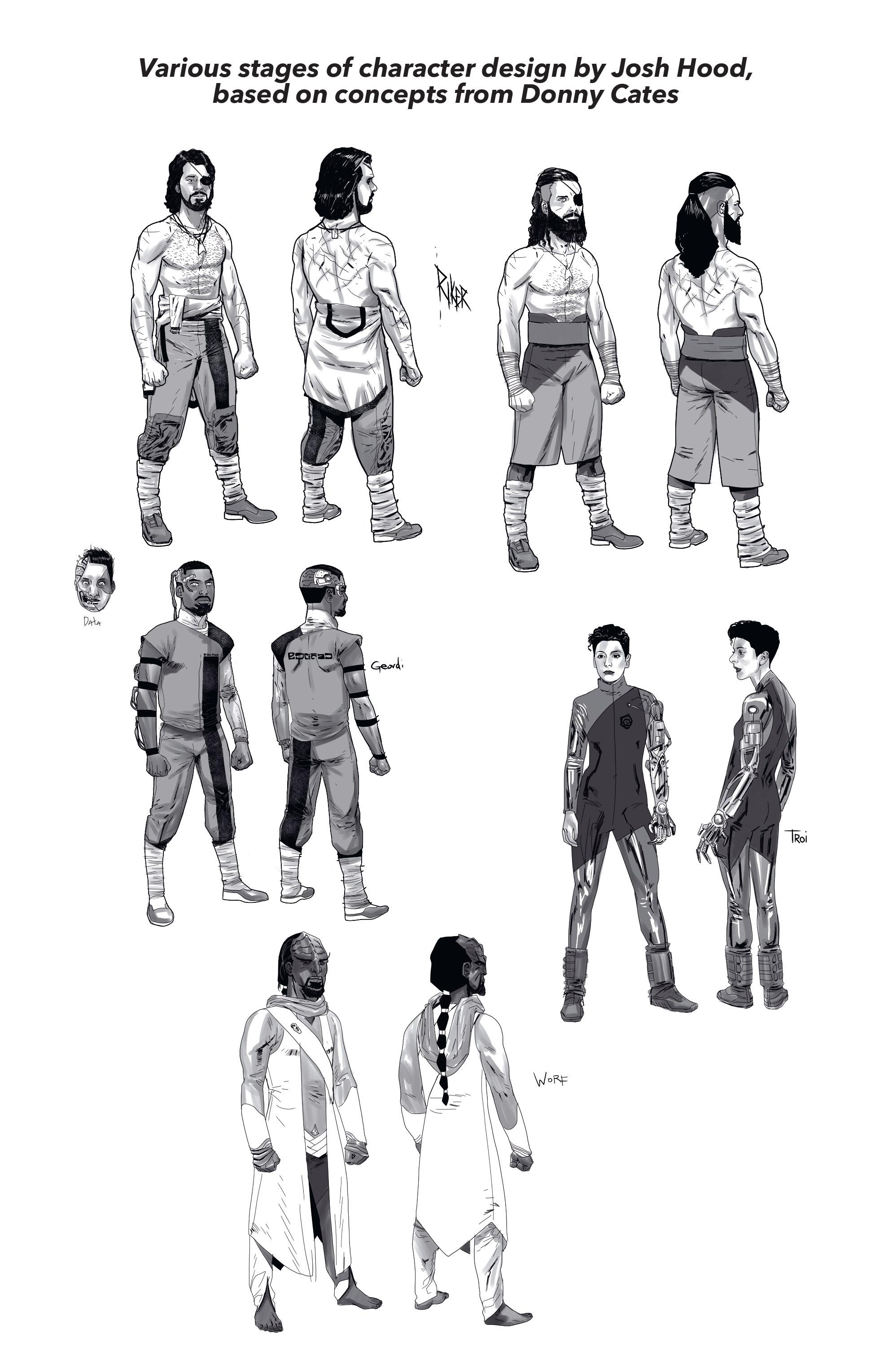 Read online Star Trek: Deviations comic -  Issue # Full - 29
