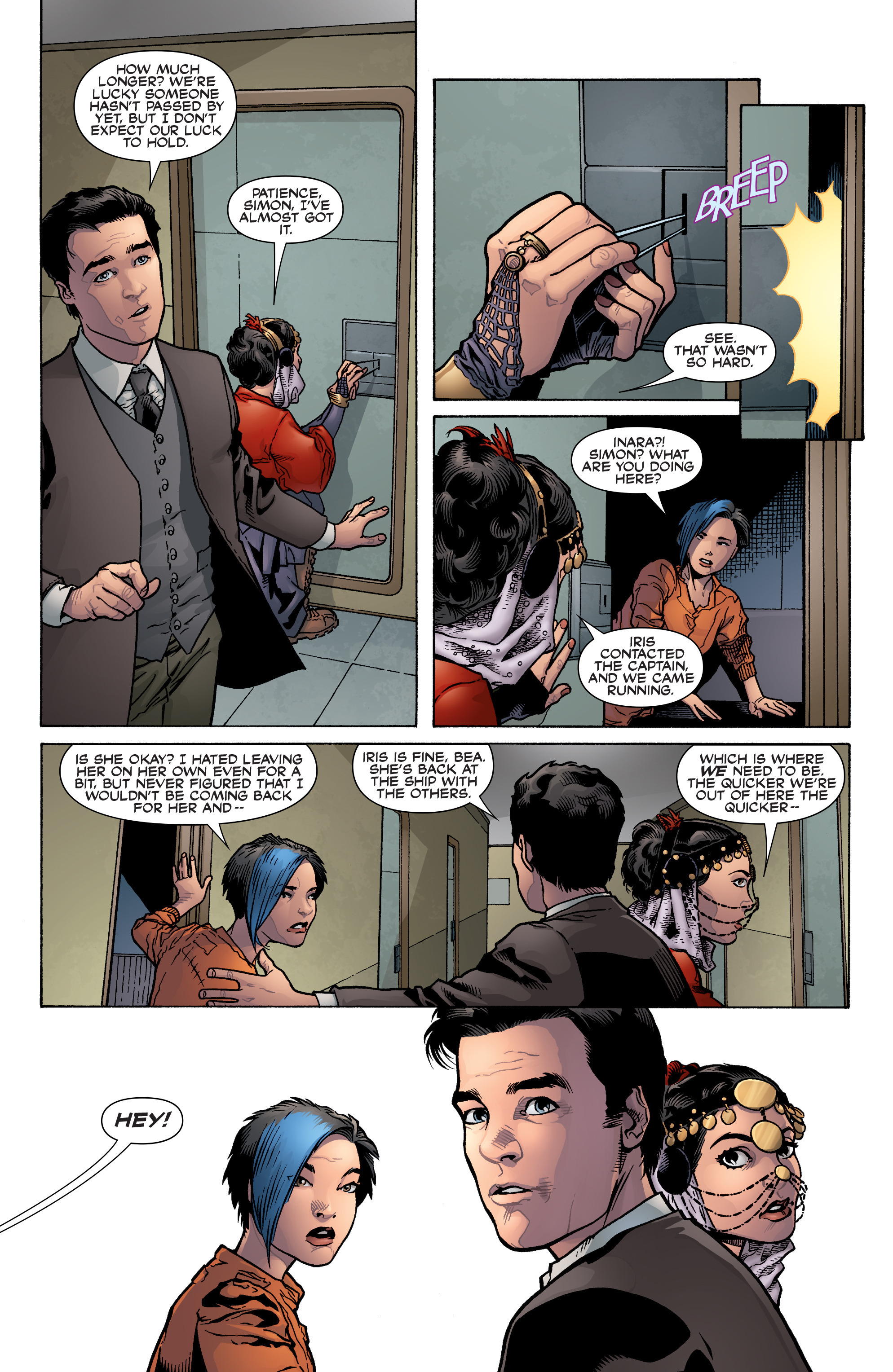 Read online Serenity: Firefly Class 03-K64 – No Power in the 'Verse comic -  Issue #3 - 22