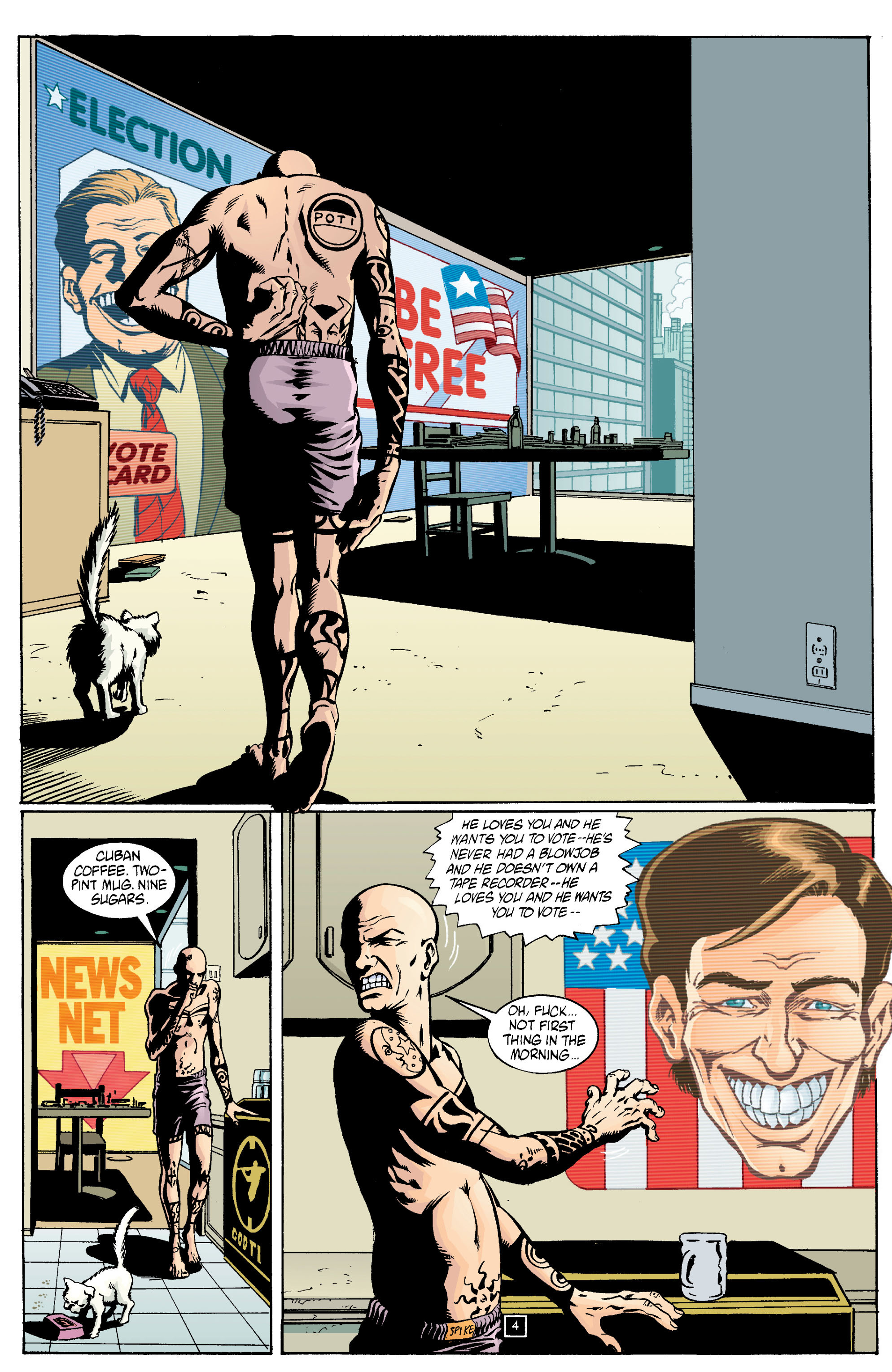 Read online Transmetropolitan comic -  Issue #13 - 5