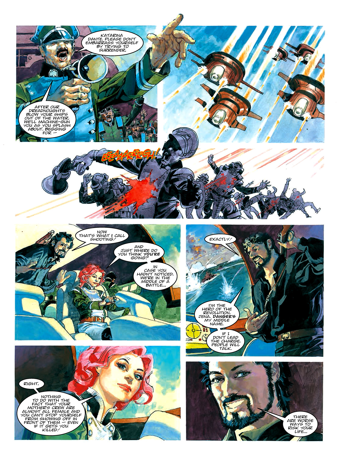Read online Nikolai Dante comic -  Issue # TPB 10 - 22