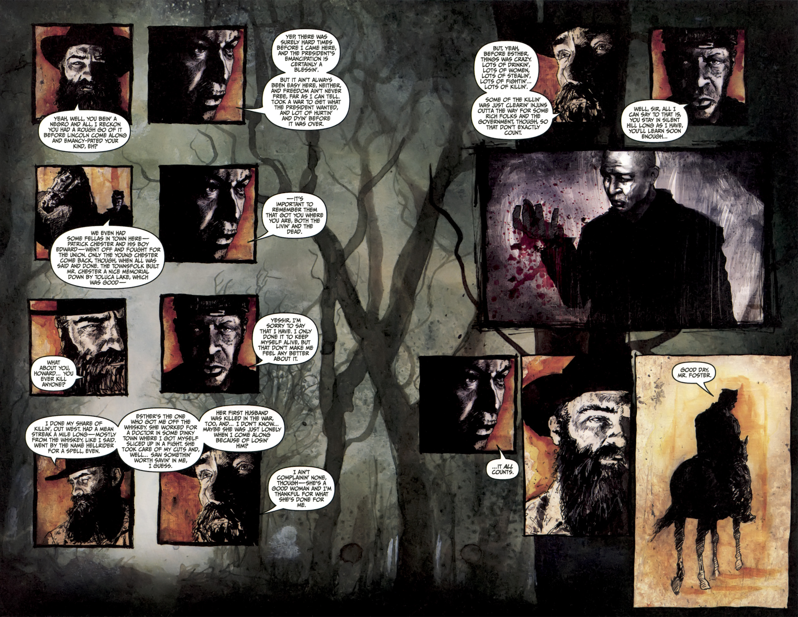Read online Silent Hill: Past Life comic -  Issue #3 - 11