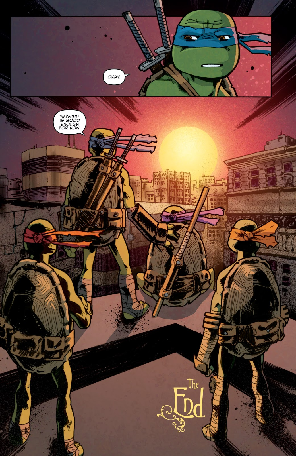 Read online Teenage Mutant Ninja Turtles: The IDW Collection comic -  Issue # TPB 5 (Part 1) - 97