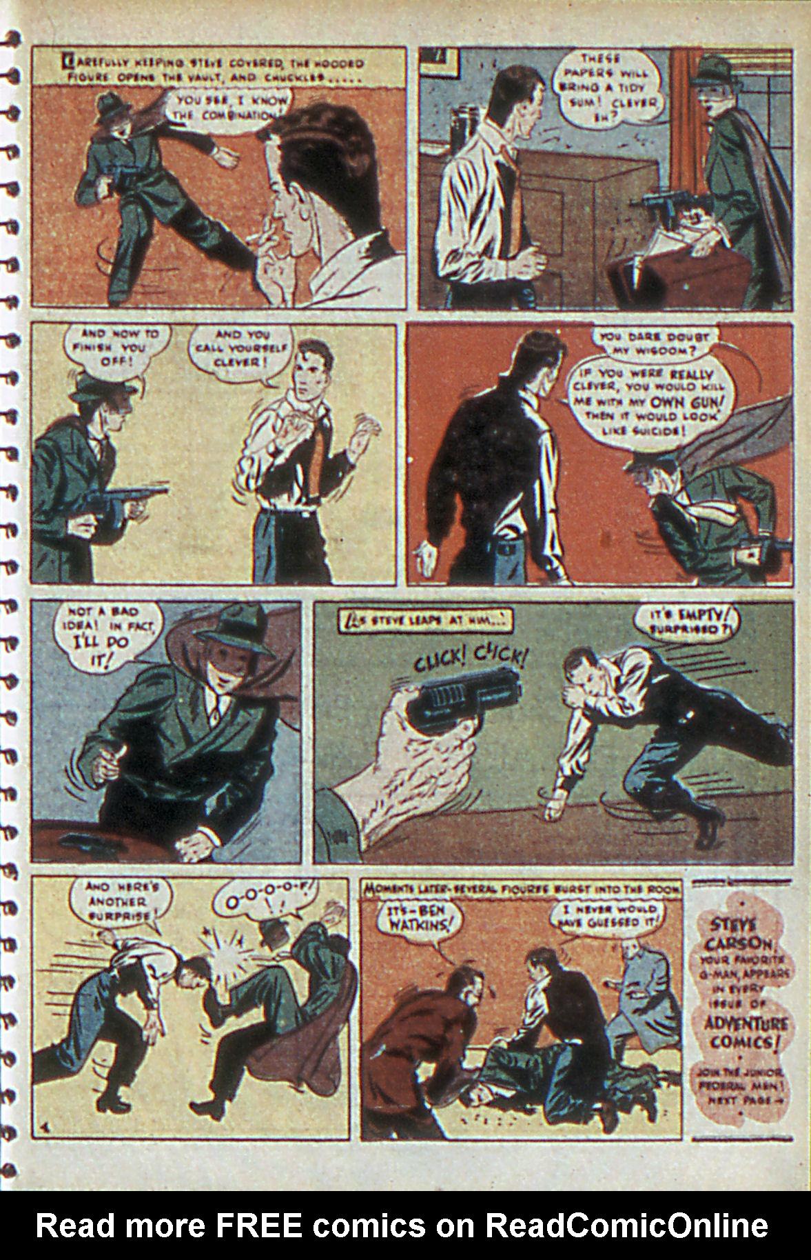 Read online Adventure Comics (1938) comic -  Issue #55 - 30