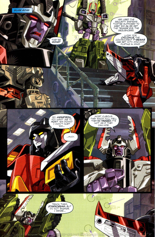 Read online Transformers Armada comic -  Issue #8 - 14