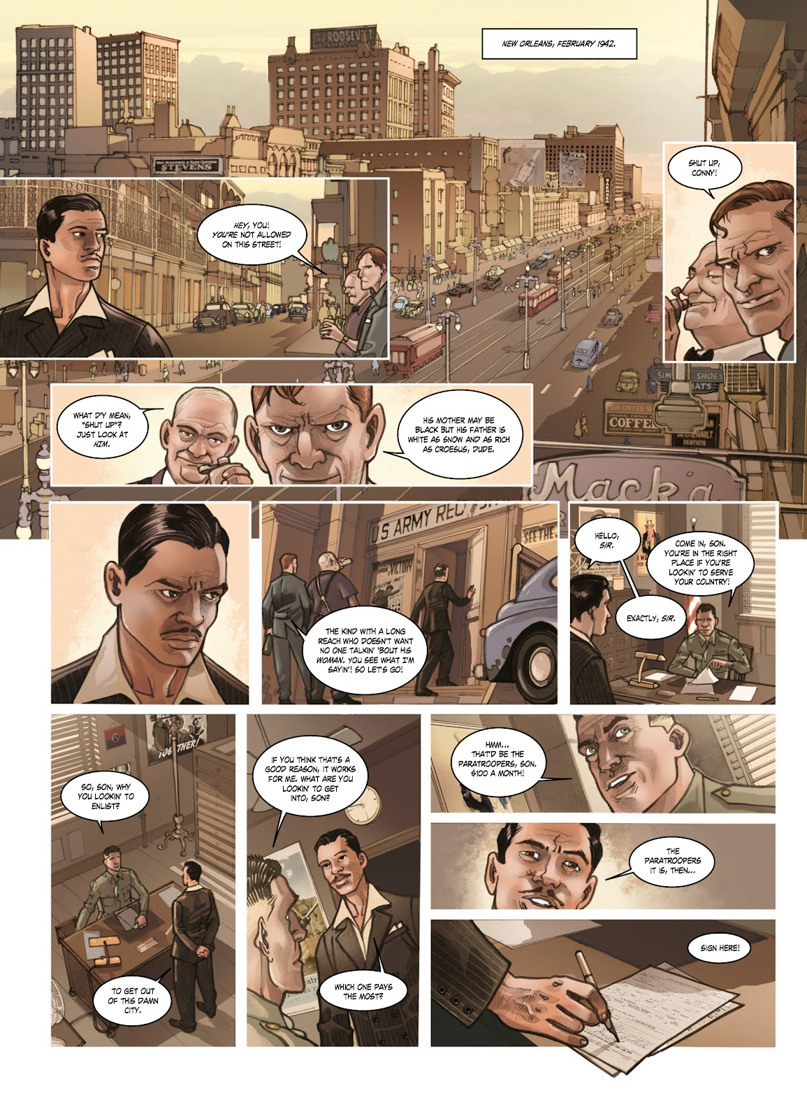 Read online Opération Overlord comic -  Issue #1 - 34