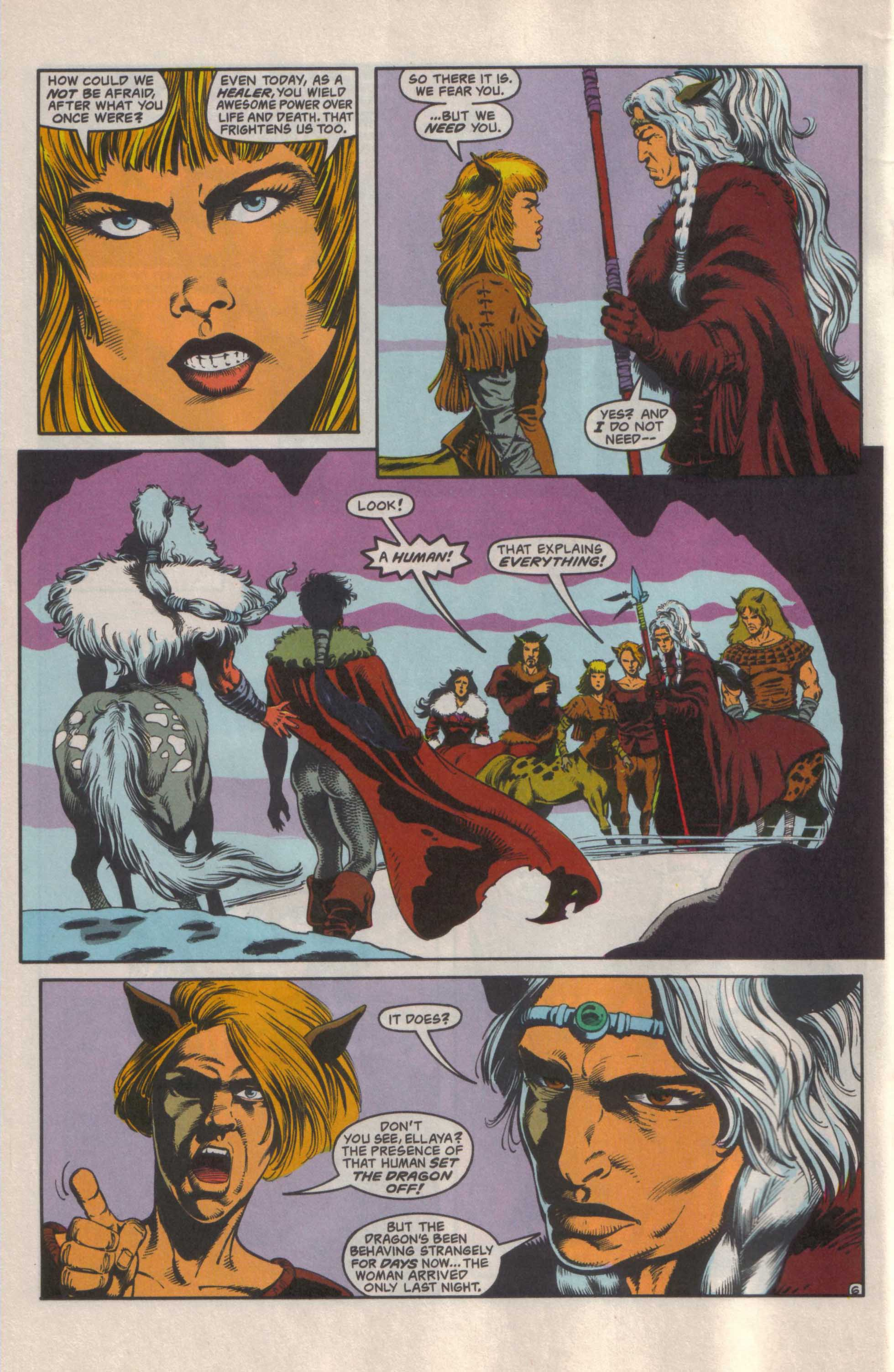 Read online Advanced Dungeons & Dragons comic -  Issue #25 - 7