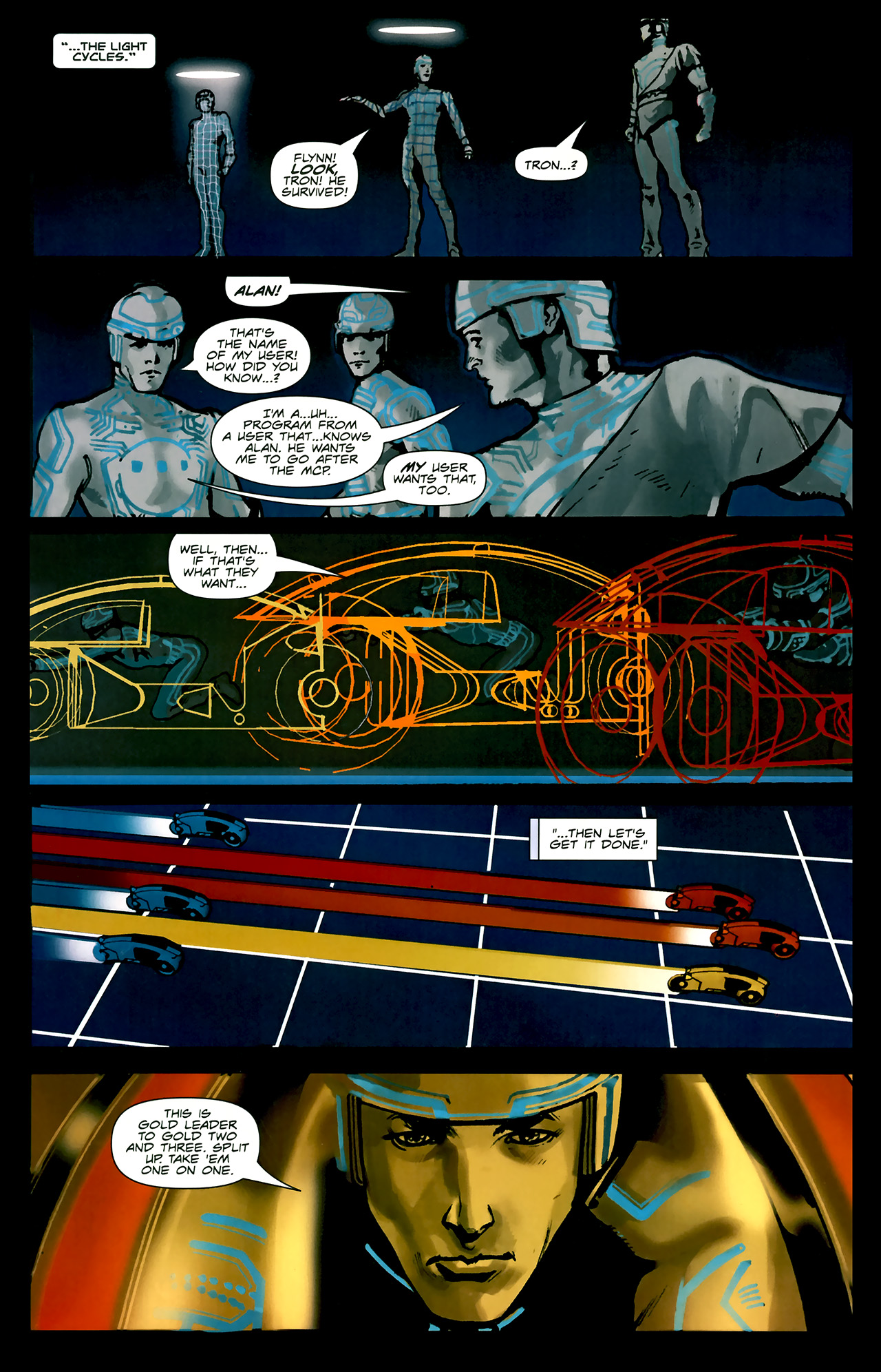 Read online TRON: Original Movie Adaptation comic -  Issue #2 - 7