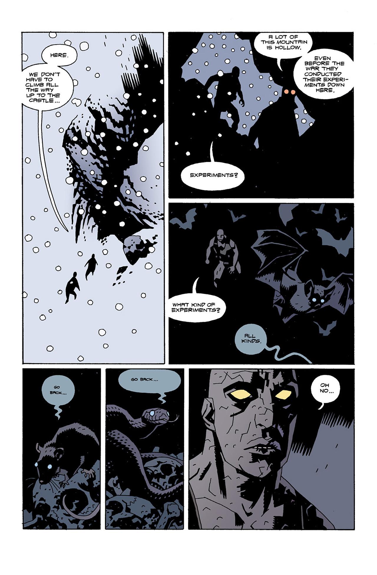 Read online Hellboy: Conqueror Worm comic -  Issue #2 - 13
